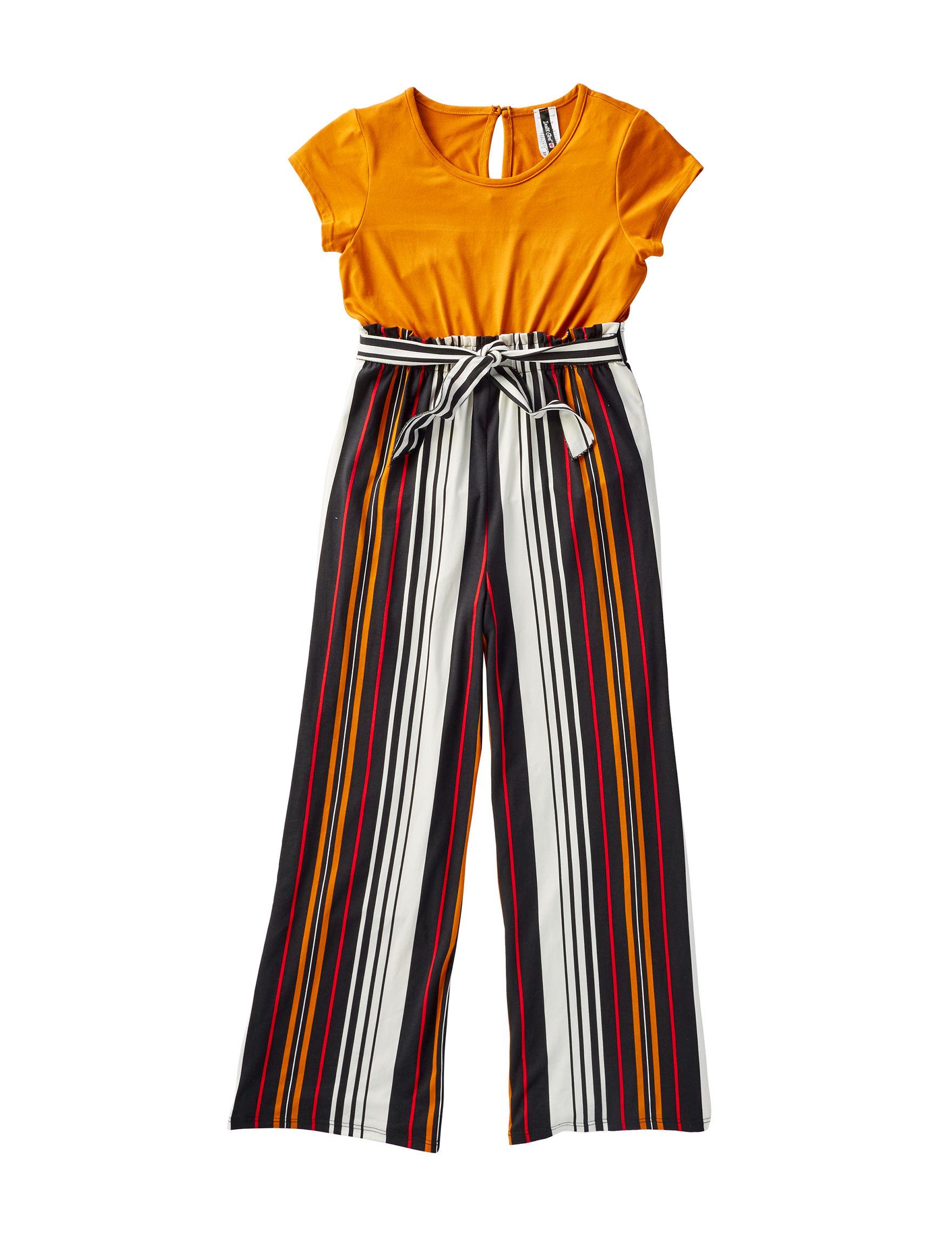 Insta Girl Rust Stripe