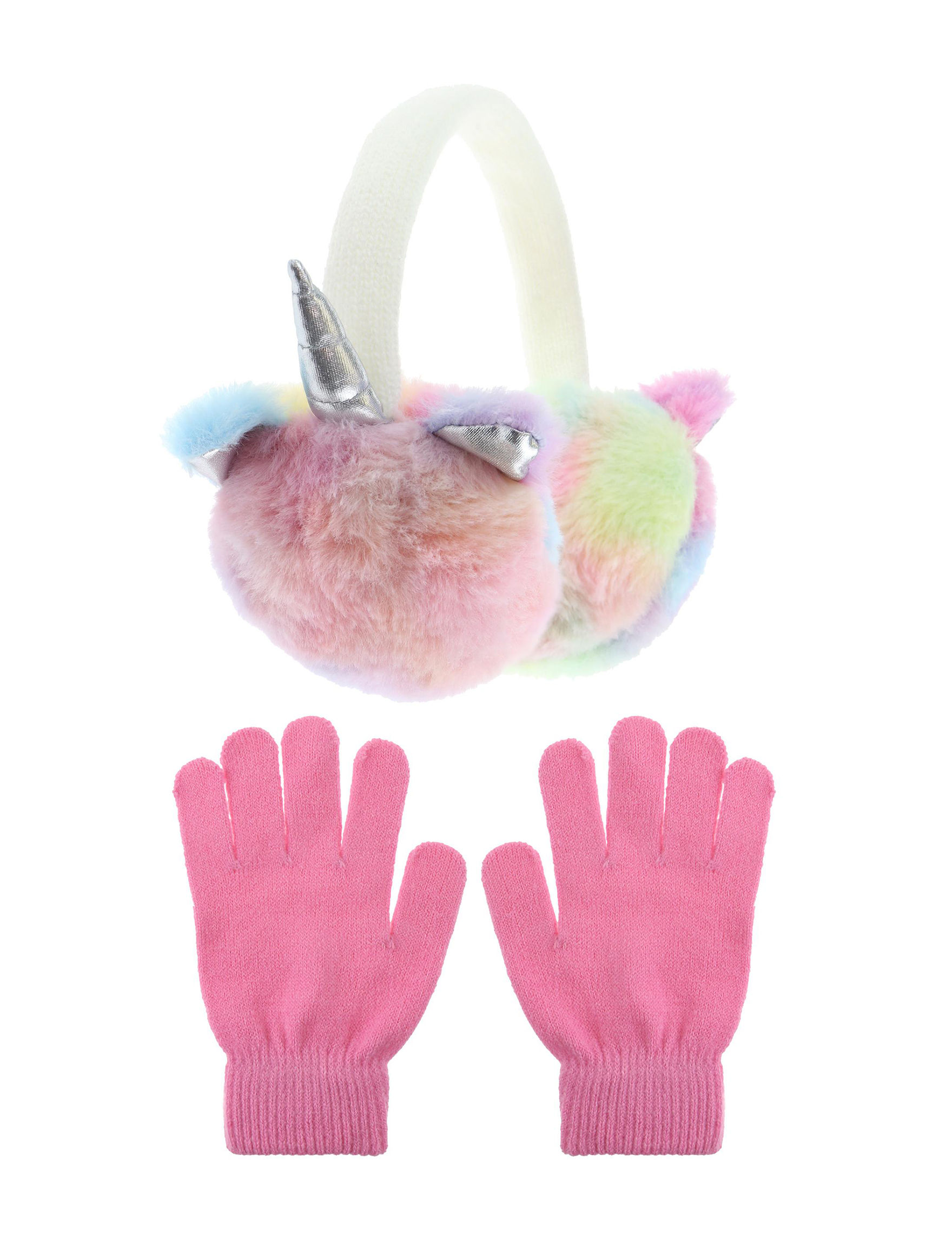 Capelli Pink Multi Hats, Gloves & Scarves