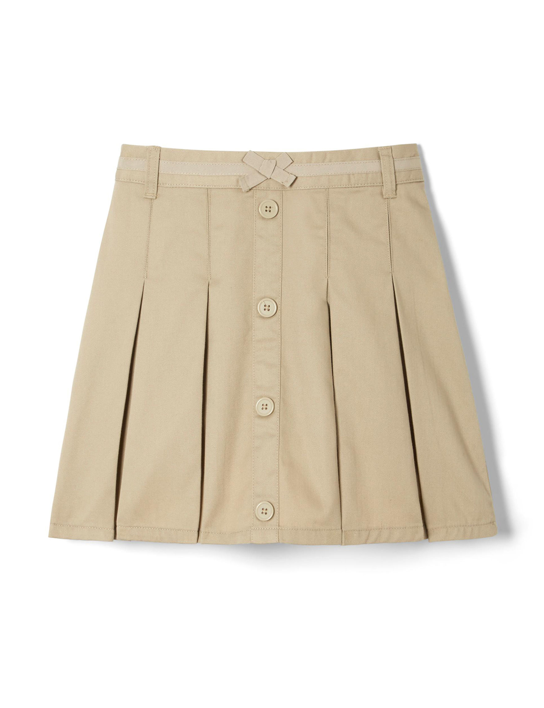 French Toast Khaki Skorts