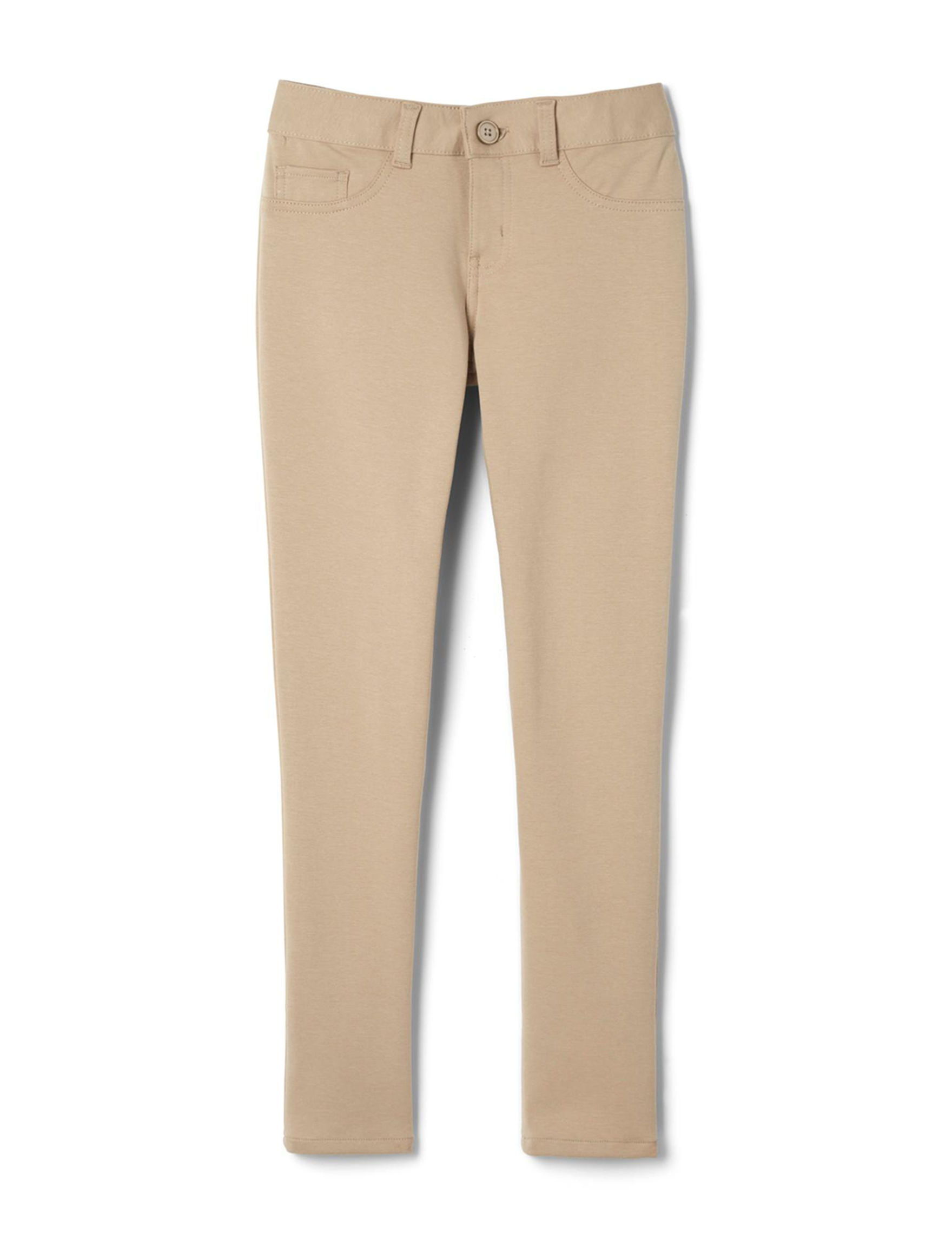 French Toast Khaki Skinny