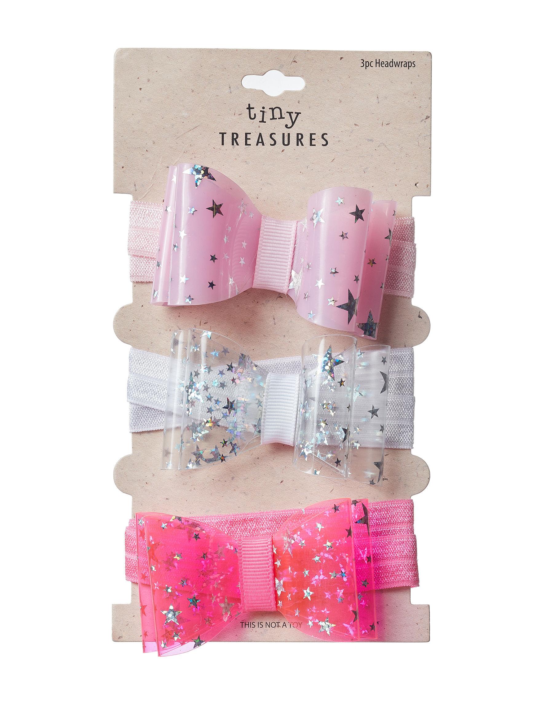 Tiny Treasures Pink / White