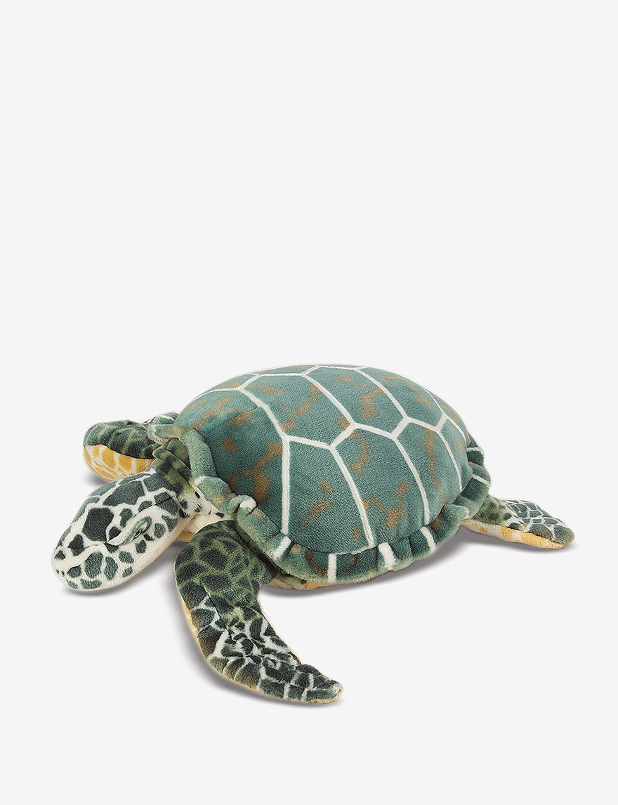 Melissa  Doug Plush Turtle -  - Melissa & Doug