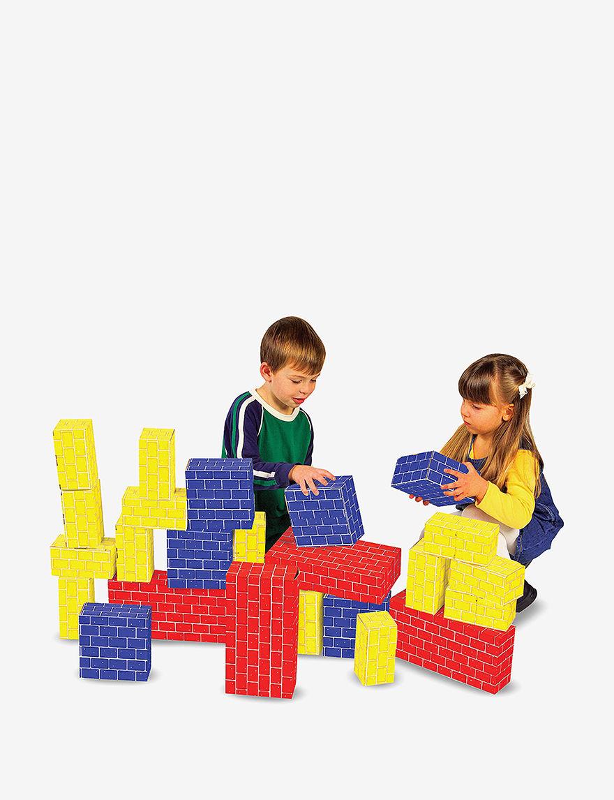 Melissa & Doug 40-pc. Deluxe Jumbo Cardboard Blocks -  - Melissa & Doug