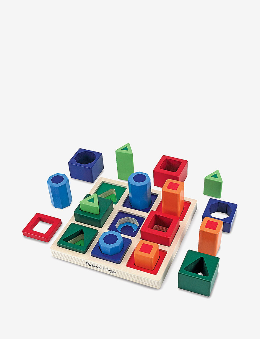 Melissa  Doug Shape Sequence Sorting Set -  - Melissa & Doug