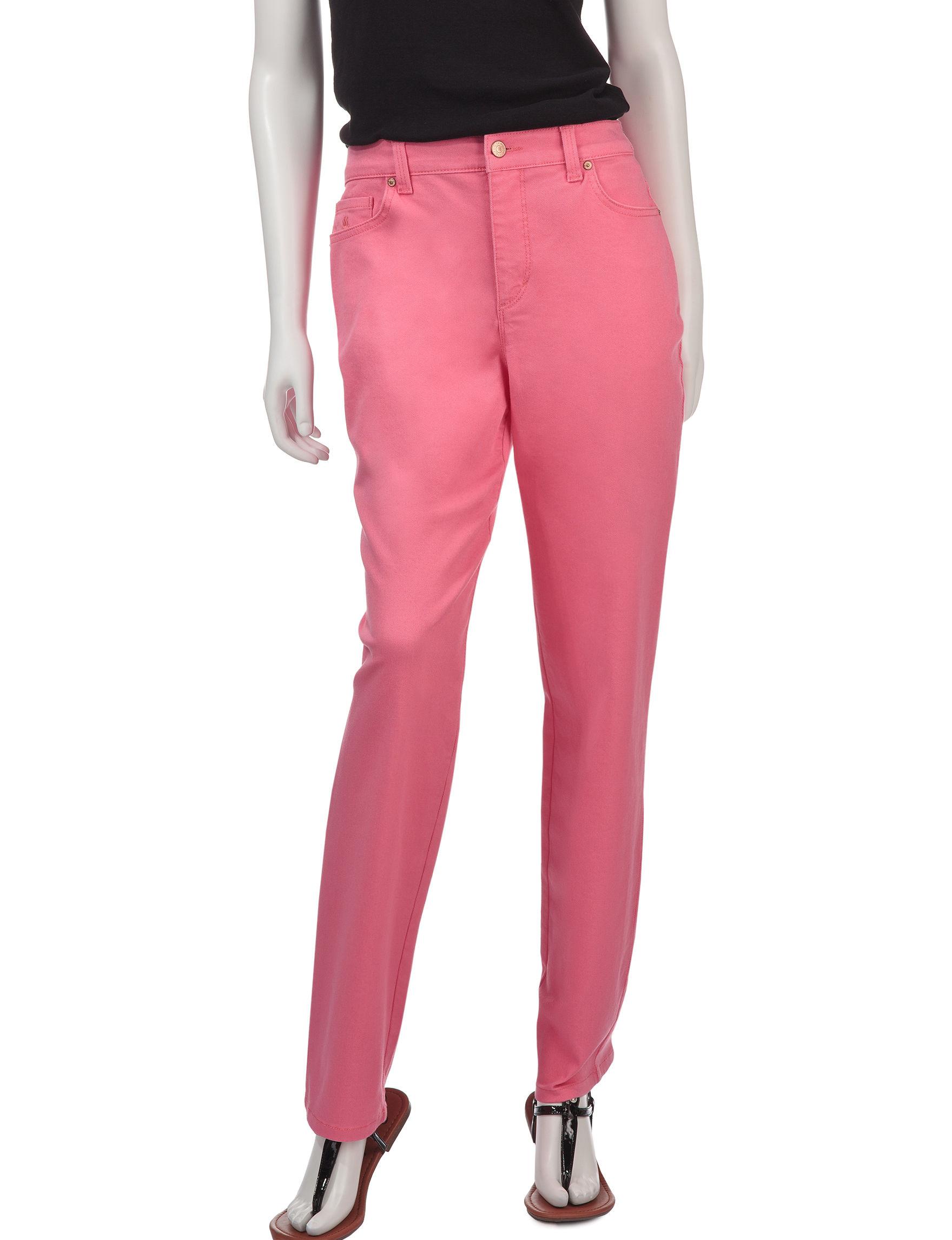 Gloria Vanderbilt Pink Straight