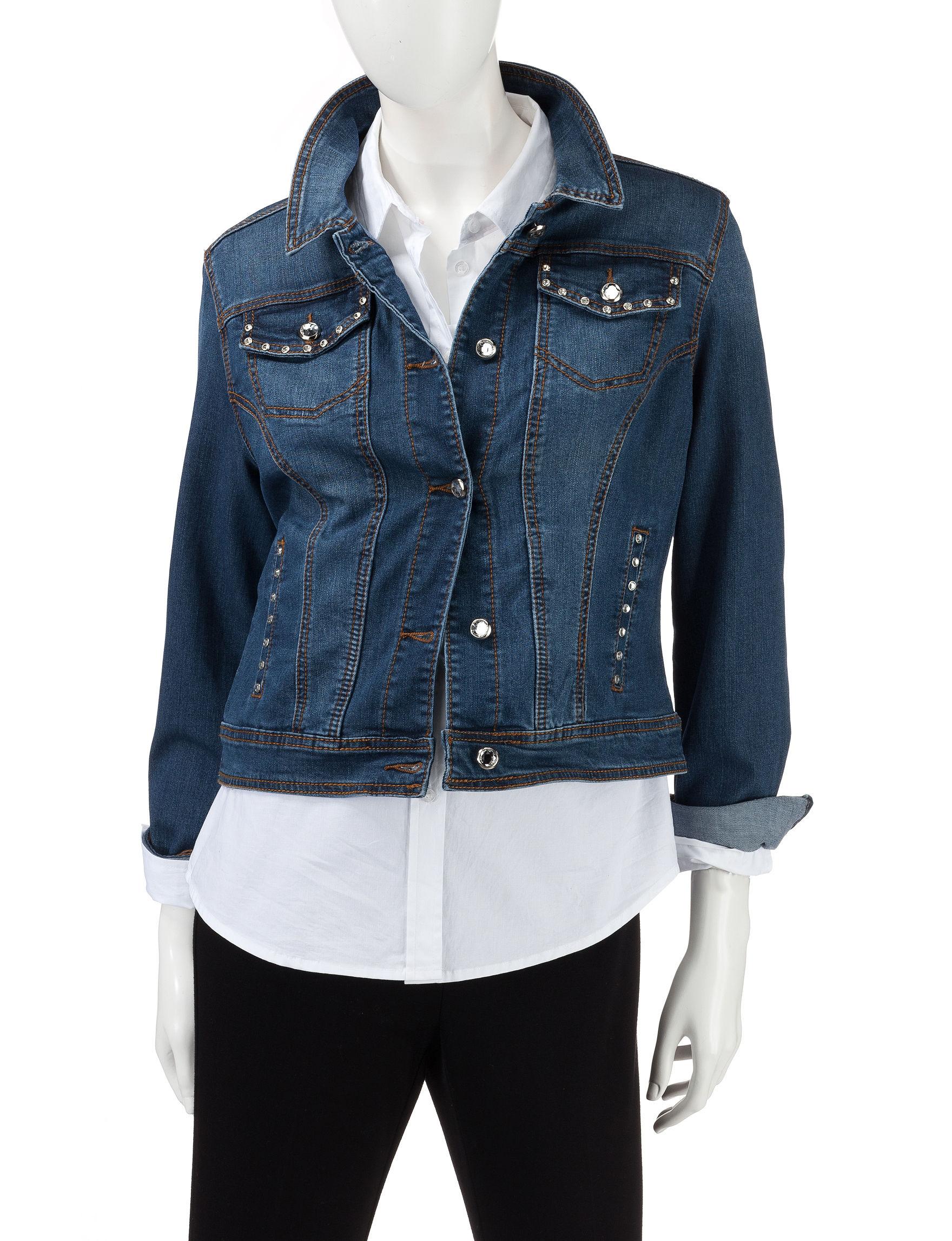 Earl Jean Blue Denim Jackets