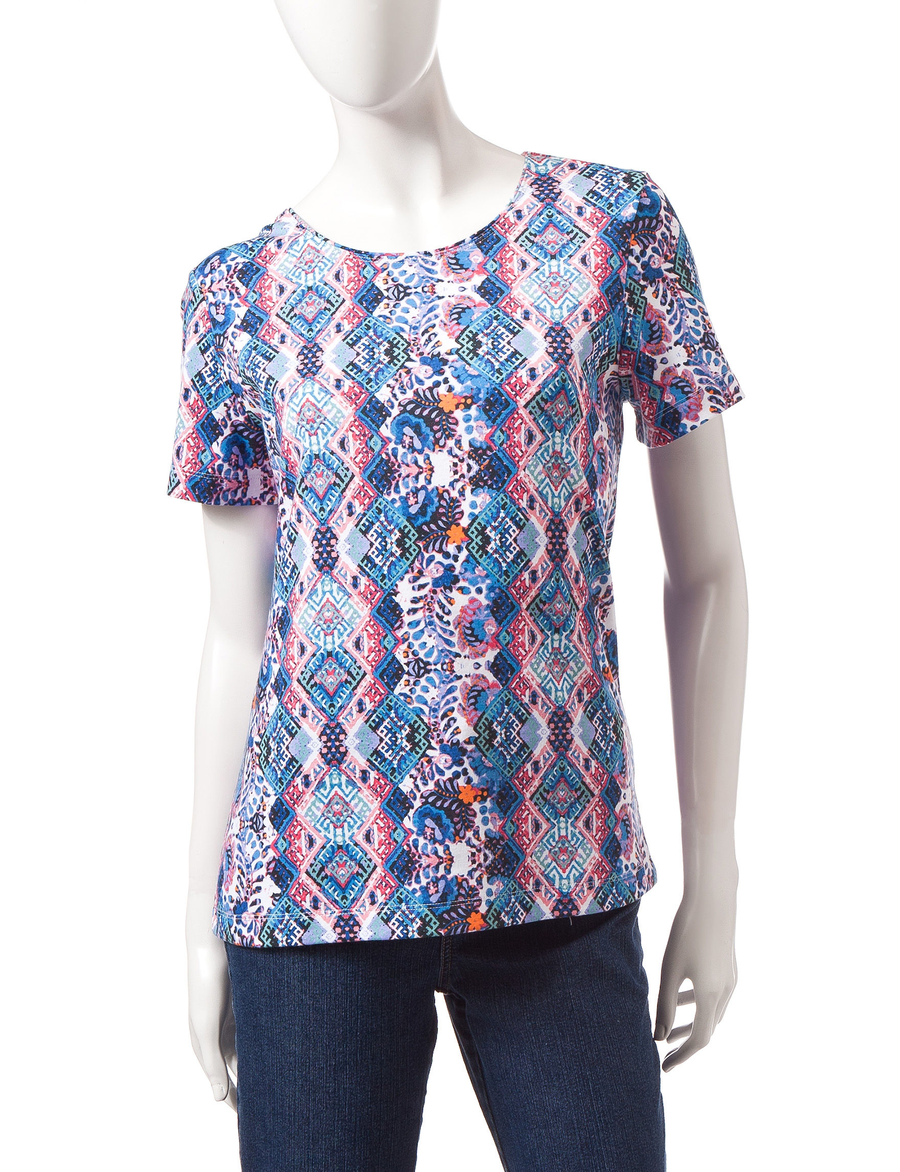 Rebecca Malone Blue Pull-overs Shirts & Blouses