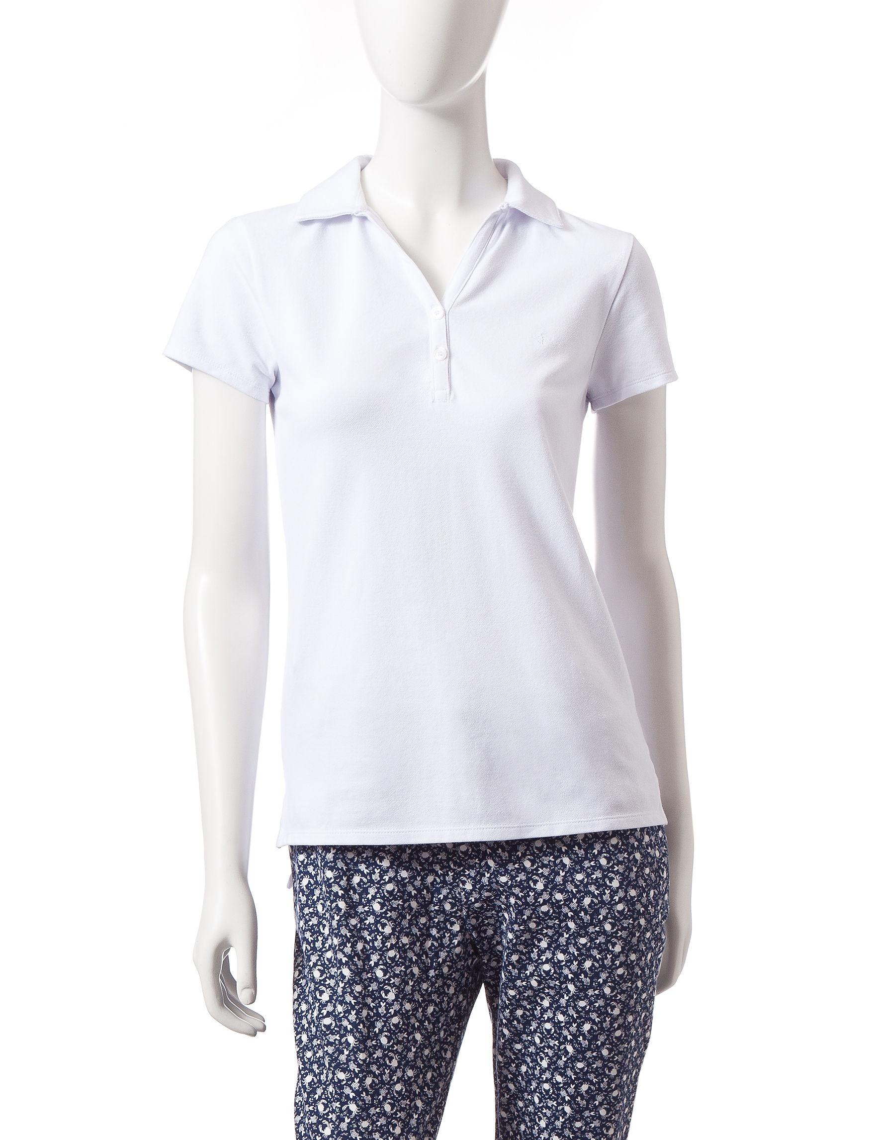Dockers White Shirts & Blouses