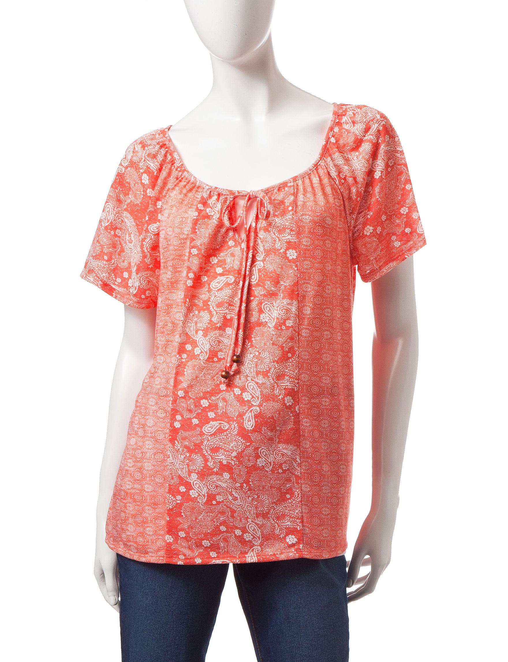 Rebecca Malone Pink Shirts & Blouses