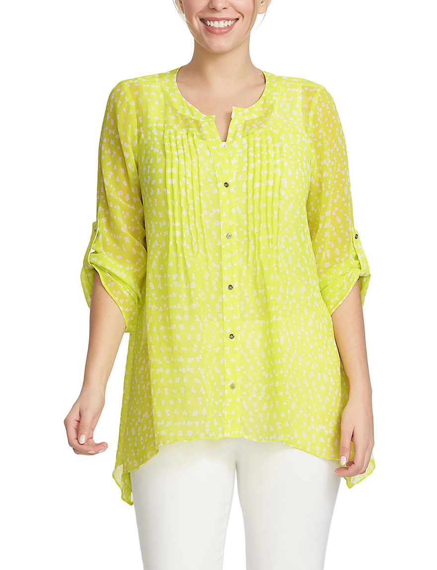 Chaus Lime Shirts & Blouses