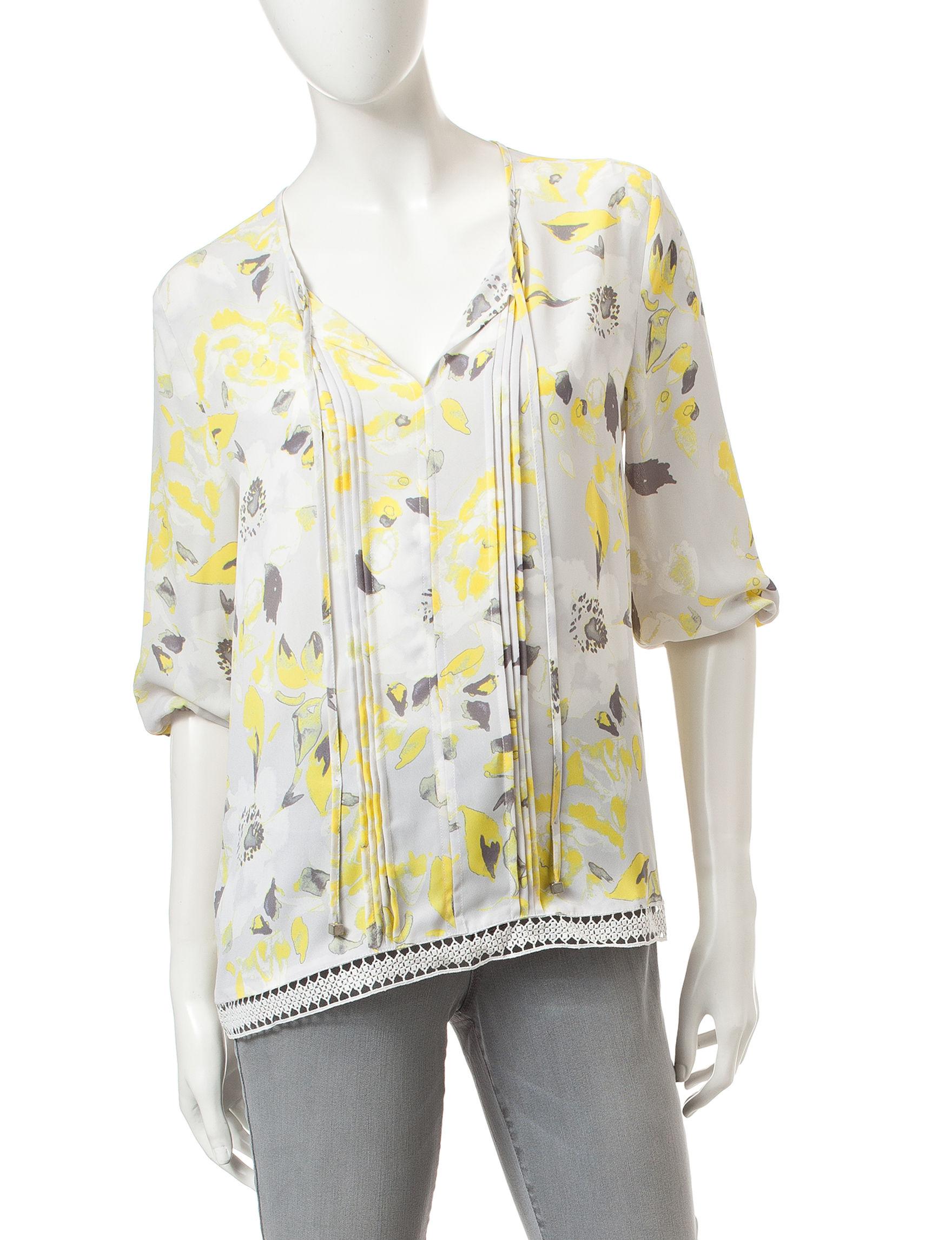 Nine West Jeans Beige Shirts & Blouses