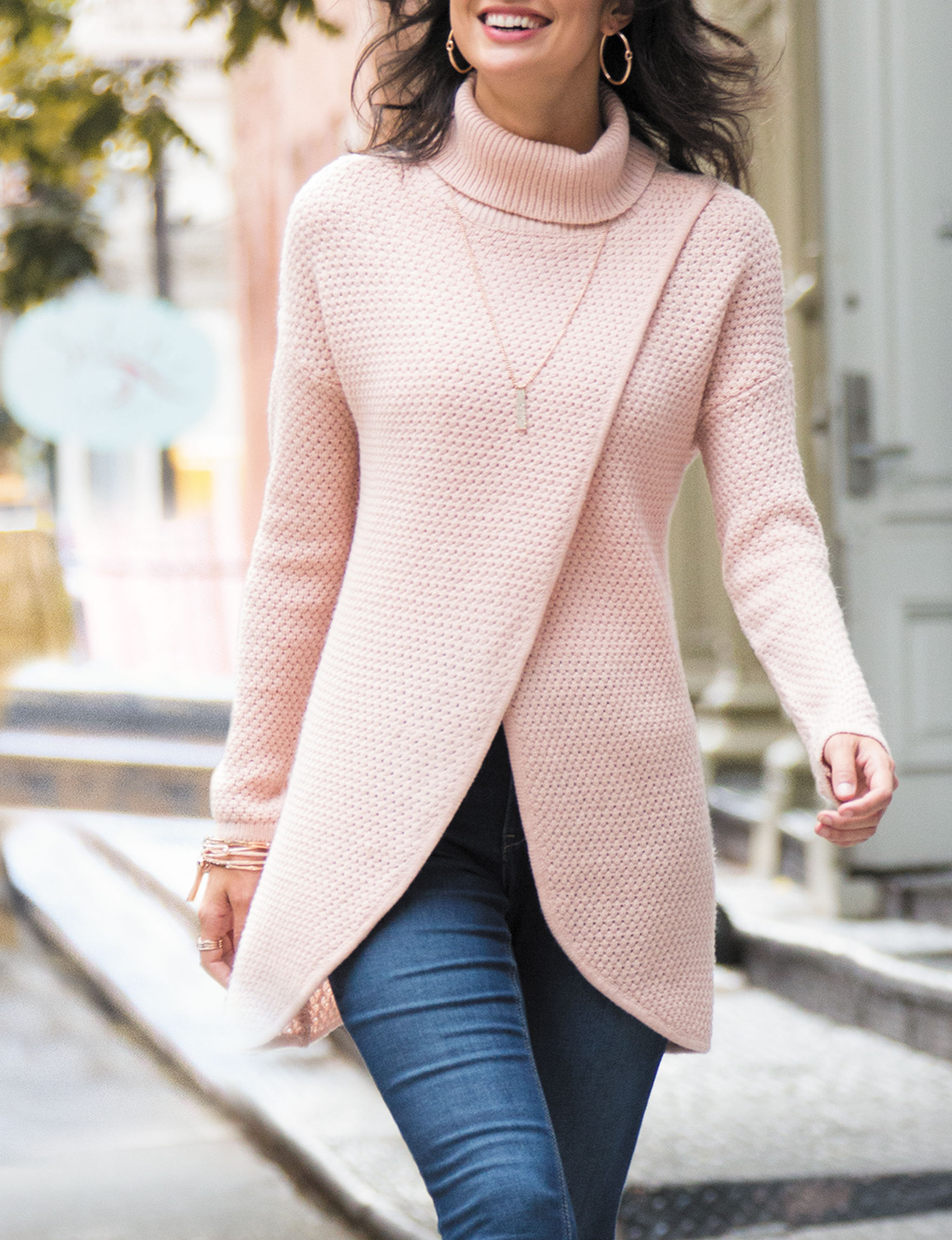 Hannah Pink Pull-overs