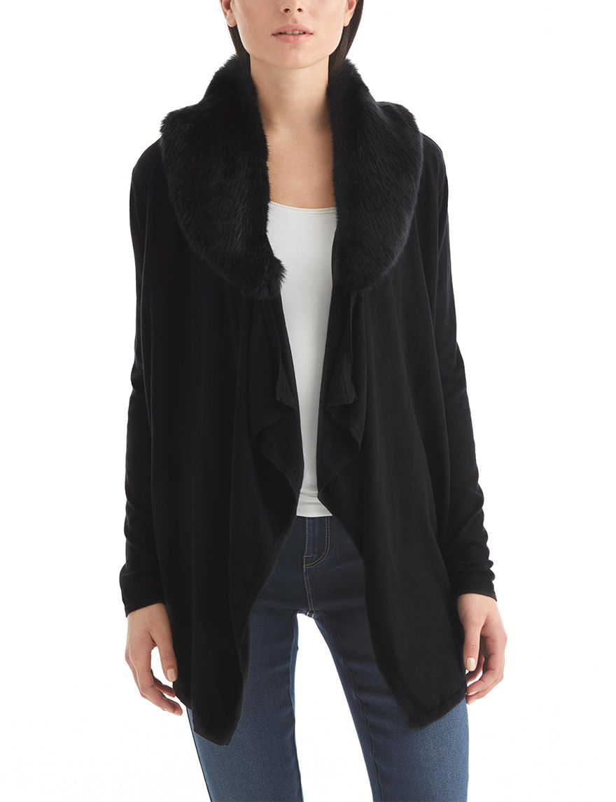 Nine West Jeans Black Cardigans Strapless