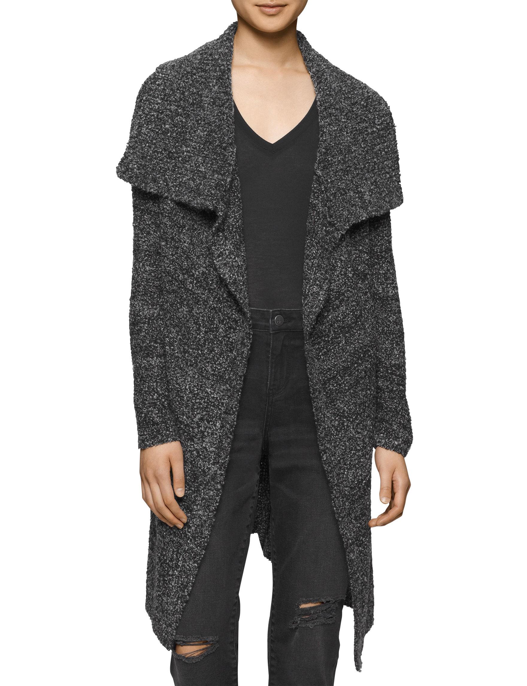 Calvin Klein Jeans Black / White Cardigans