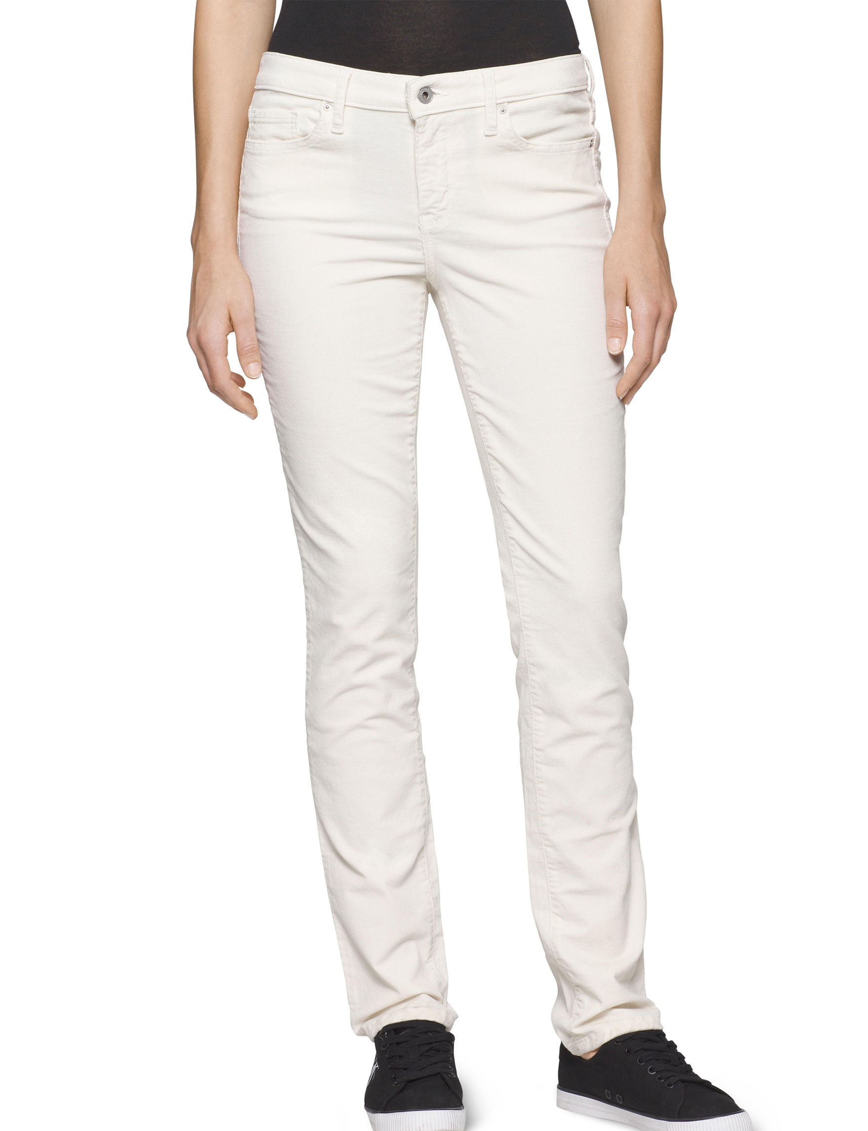 Calvin Klein Jeans Off White Soft Pants