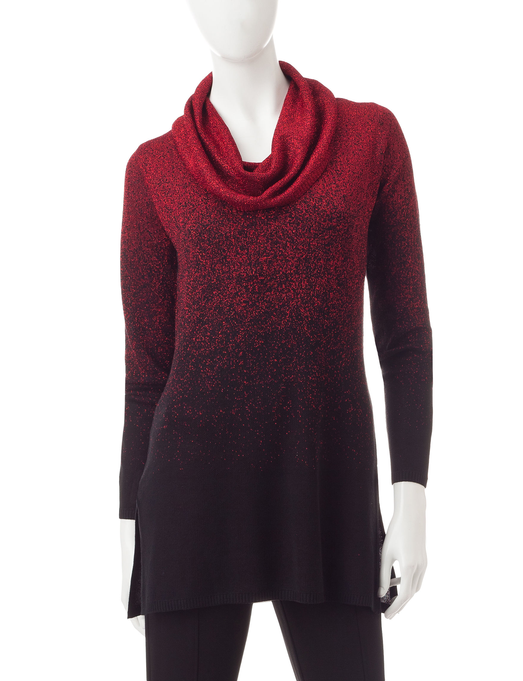 Hannah Red / Black Pull-overs