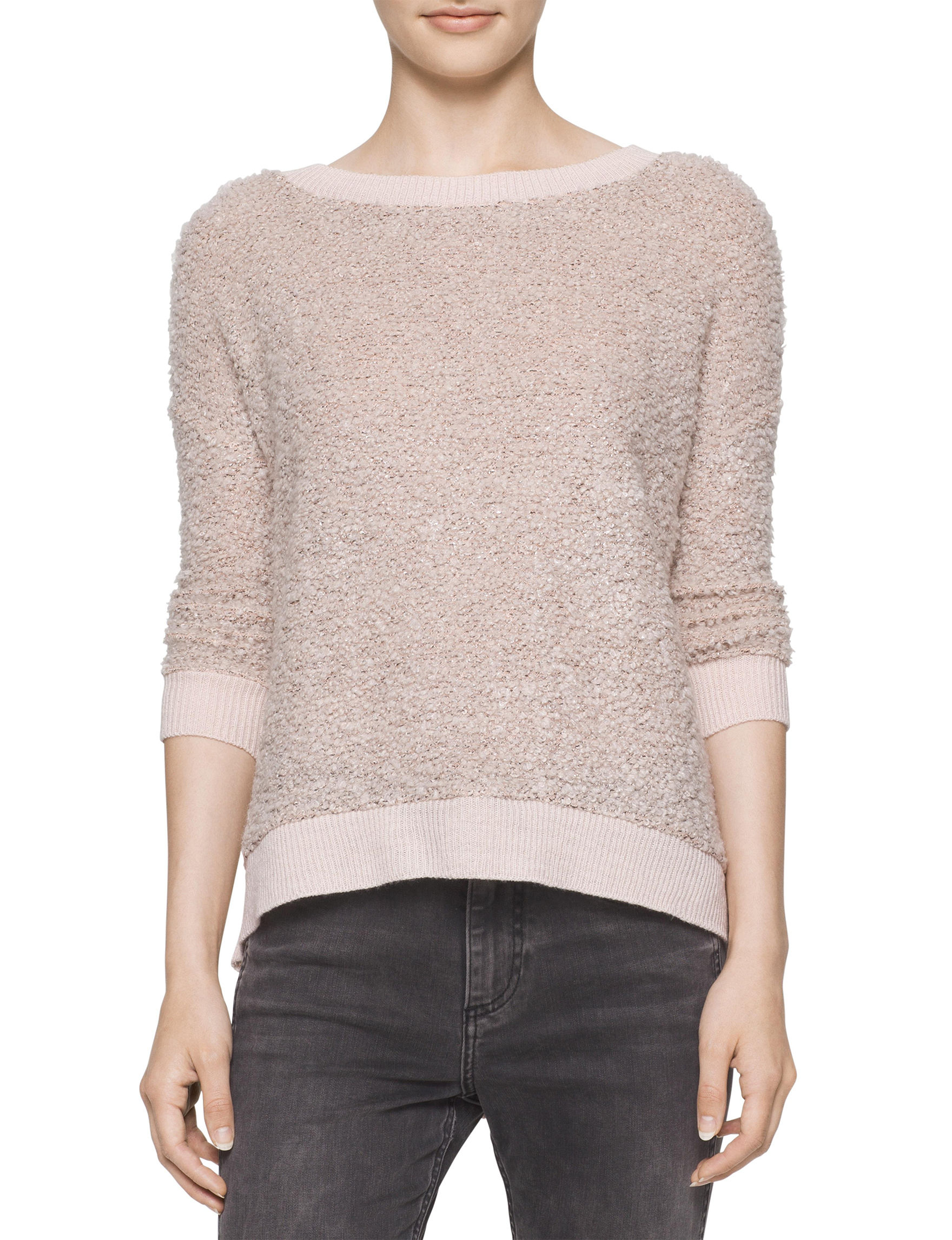 Calvin Klein Jeans Beige Pull-overs