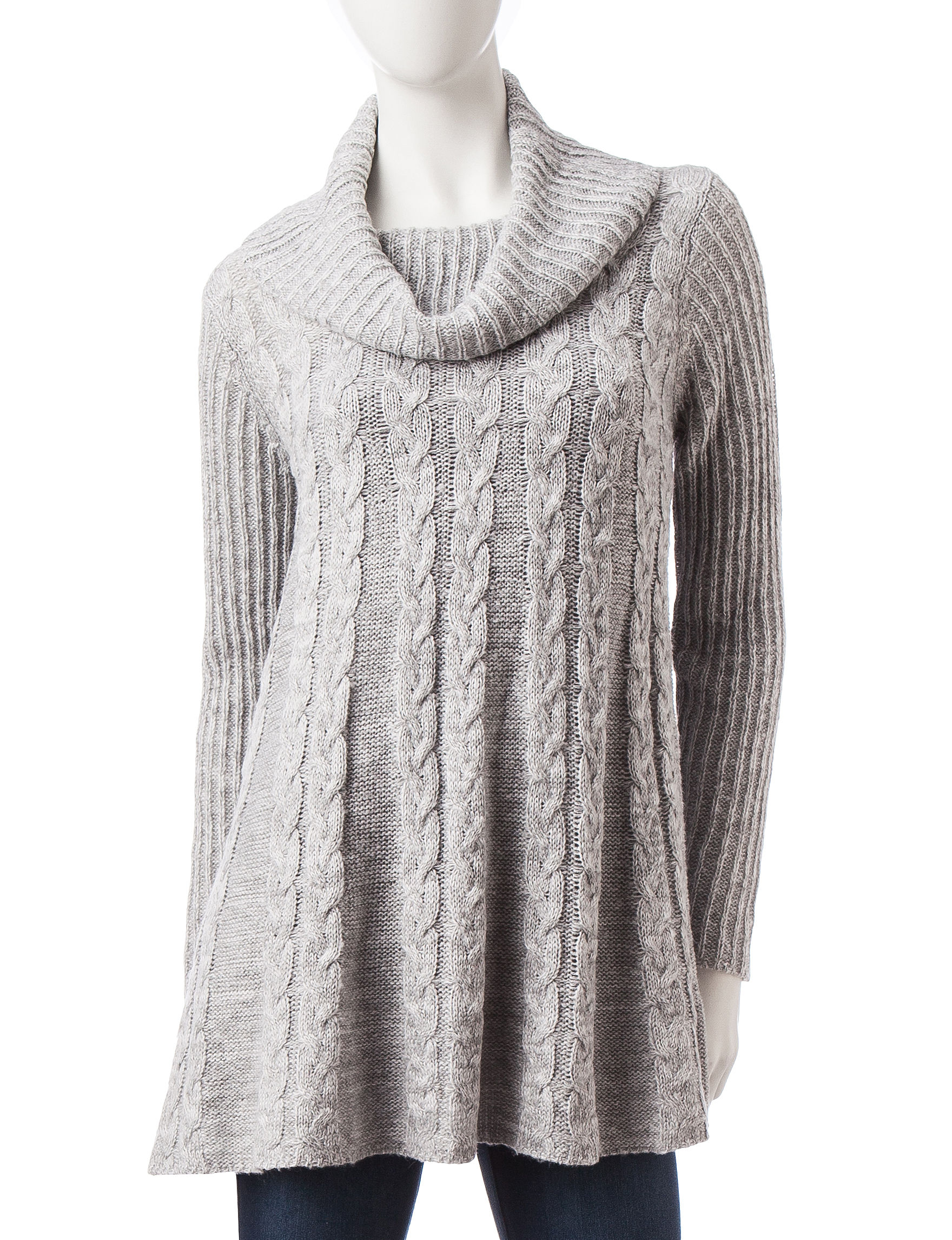 Hannah Heather Grey Pull-overs