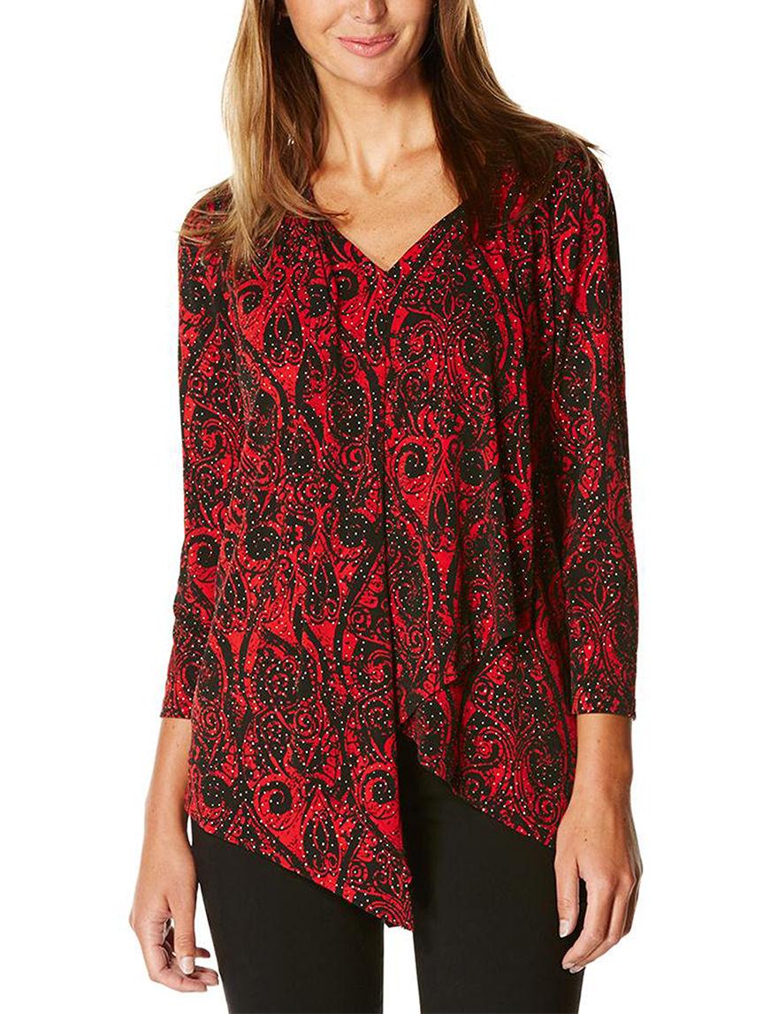 Rafaella Red Shirts & Blouses