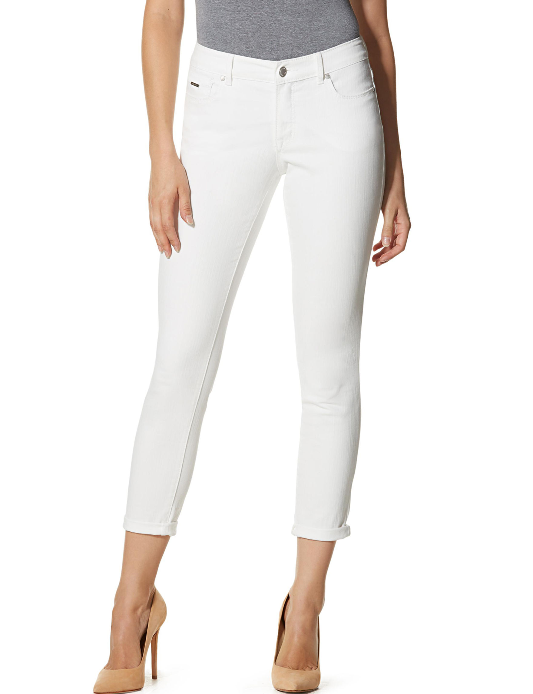Nine West Jeans White Skinny
