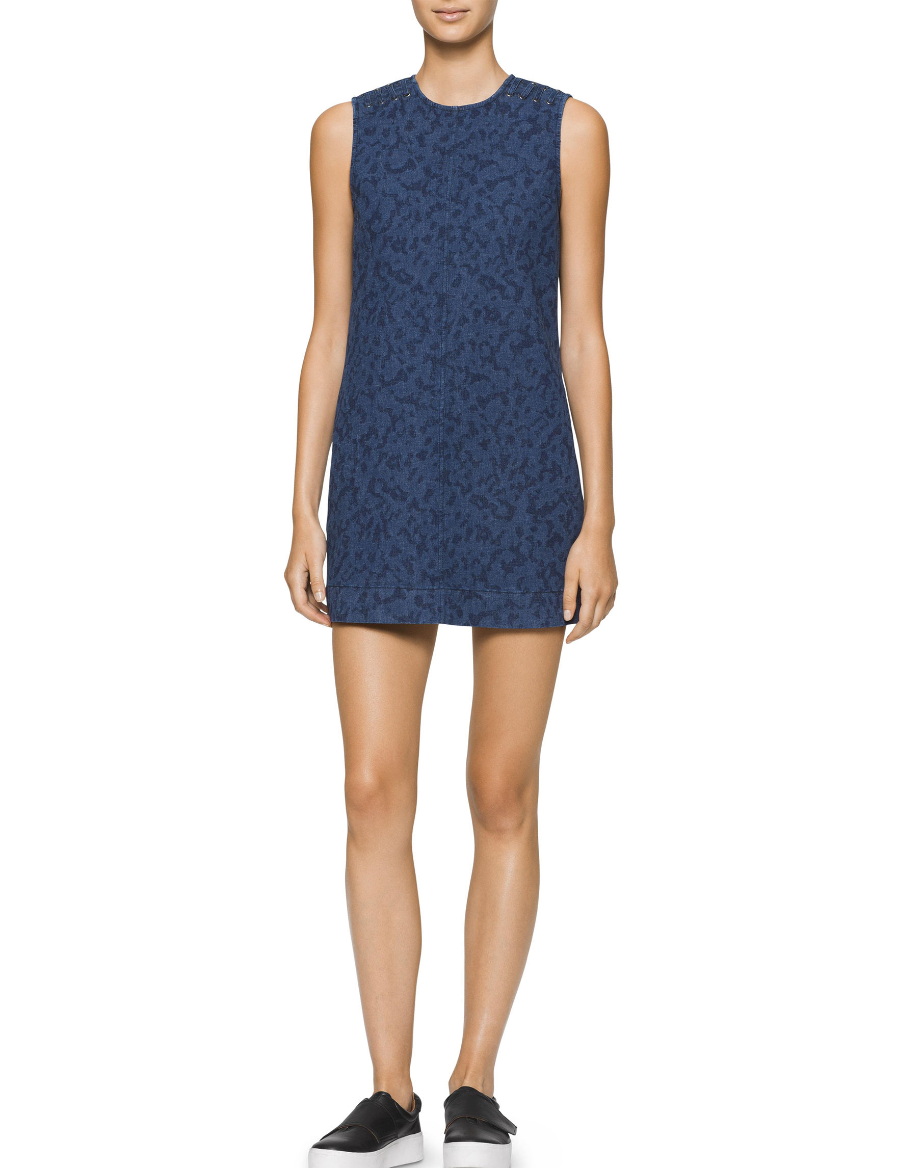 Calvin Klein Jeans Blue Everyday & Casual Shift Dresses