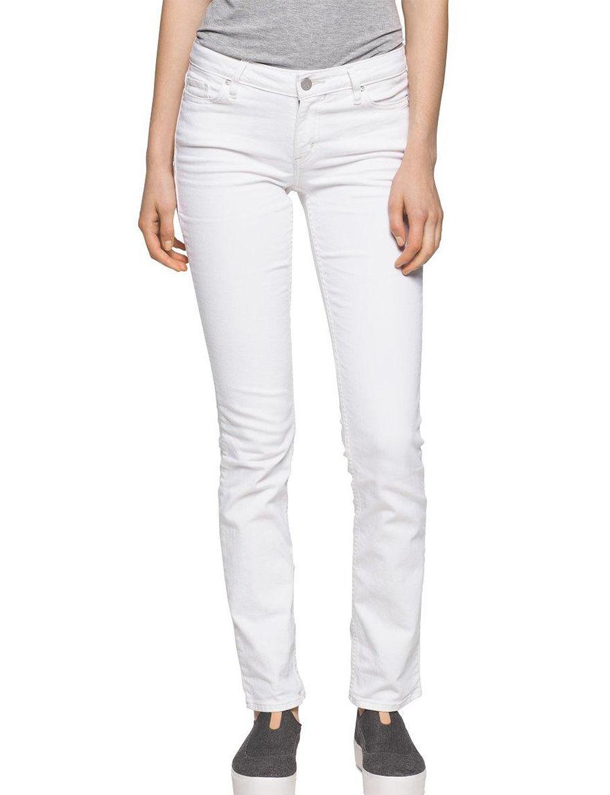 Calvin Klein Jeans White Straight