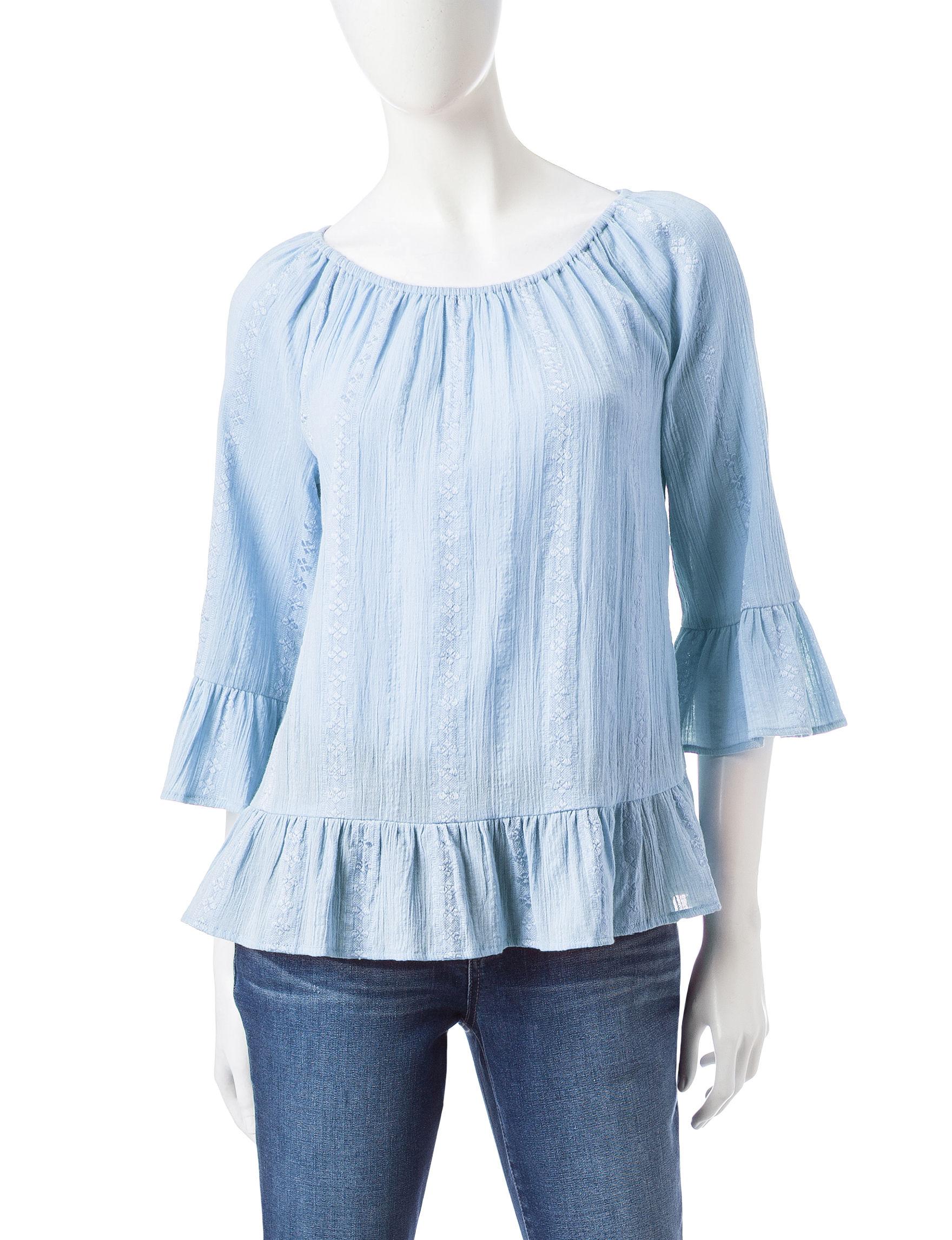 Hannah Denim Shirts & Blouses