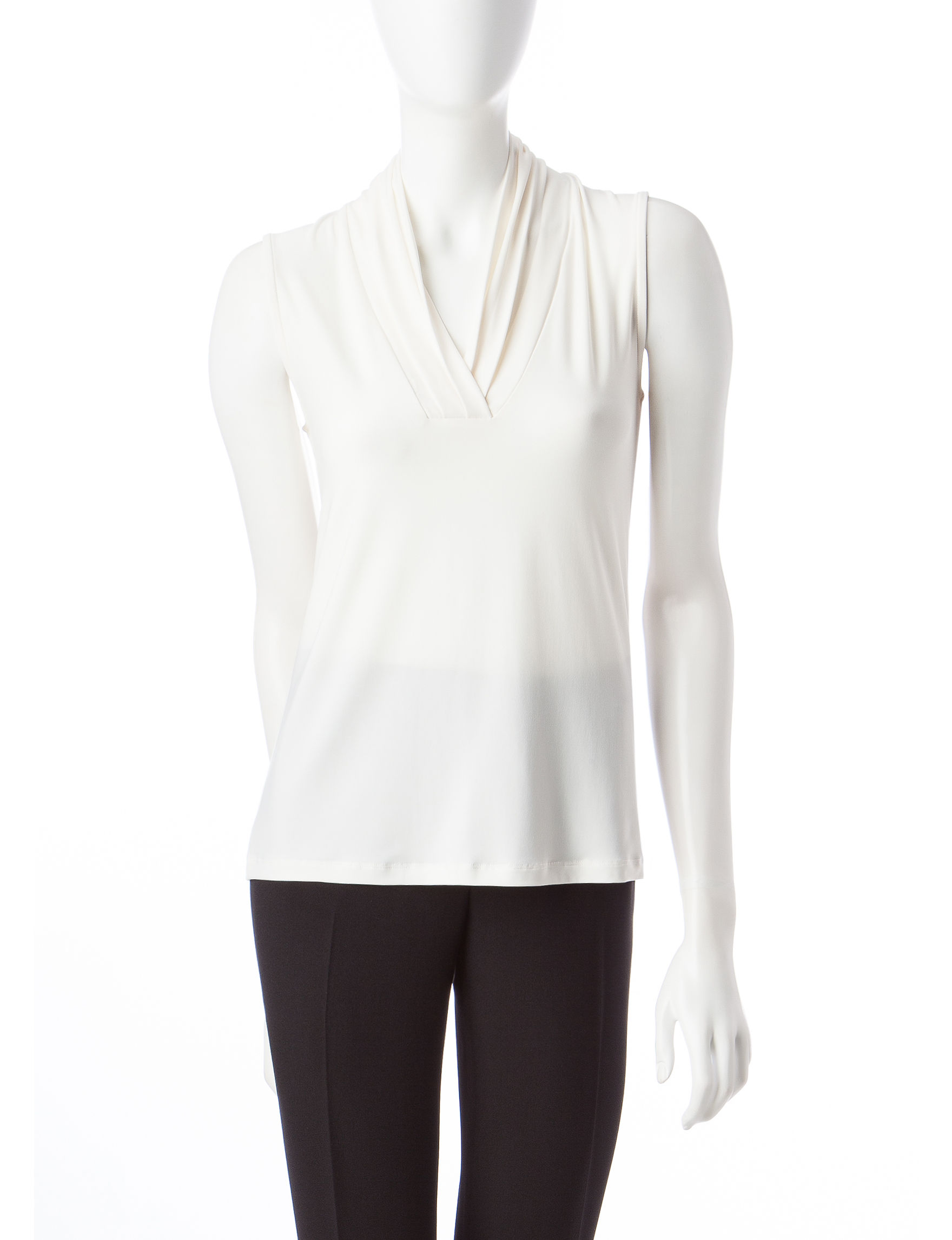 Anne Klein White Shirts & Blouses