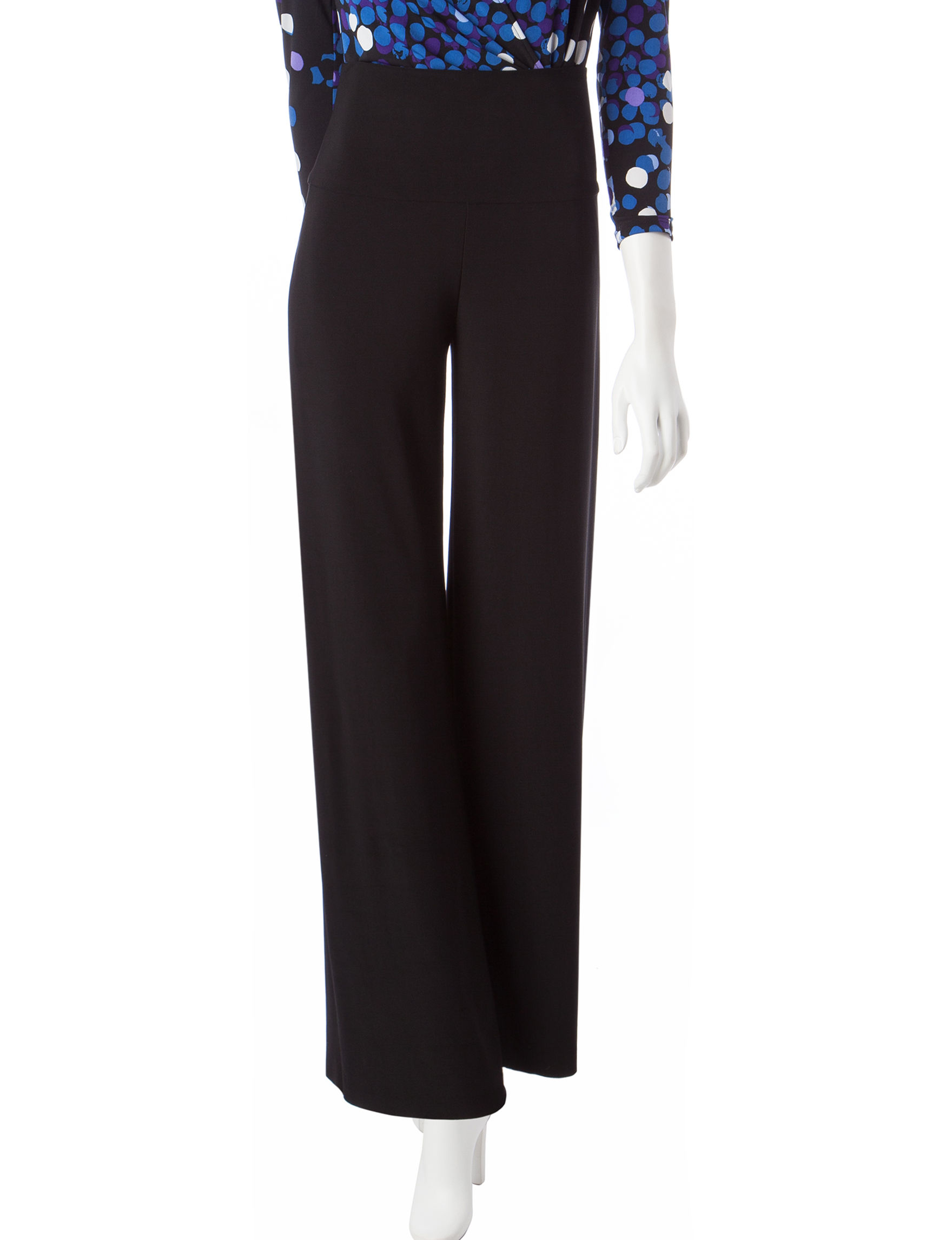 Anne Klein Black Soft Pants