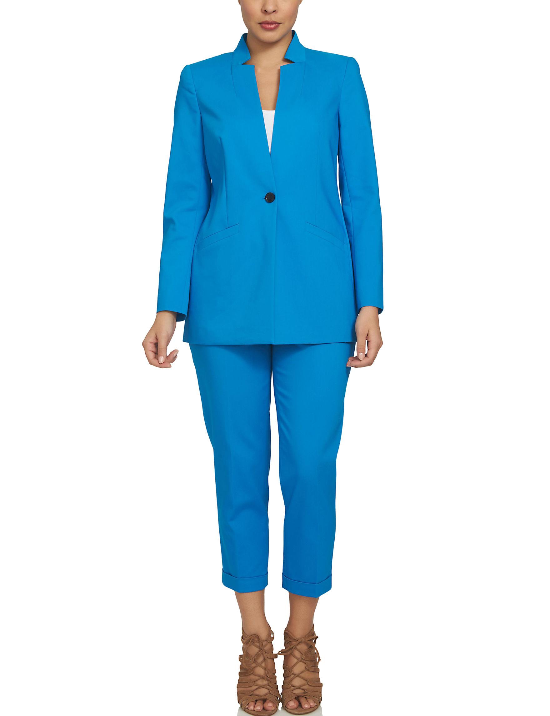 Chaus Blue Lightweight Jackets & Blazers