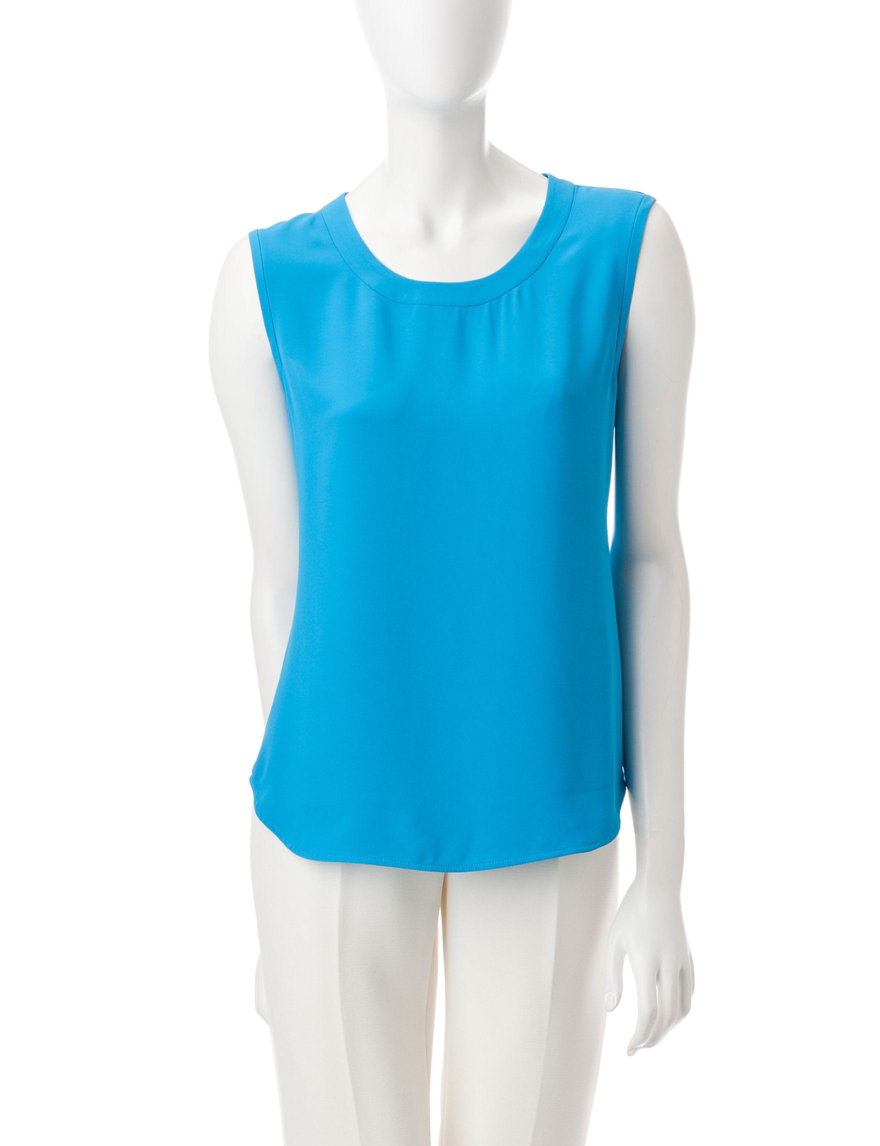 Anne Klein Blue Shirts & Blouses