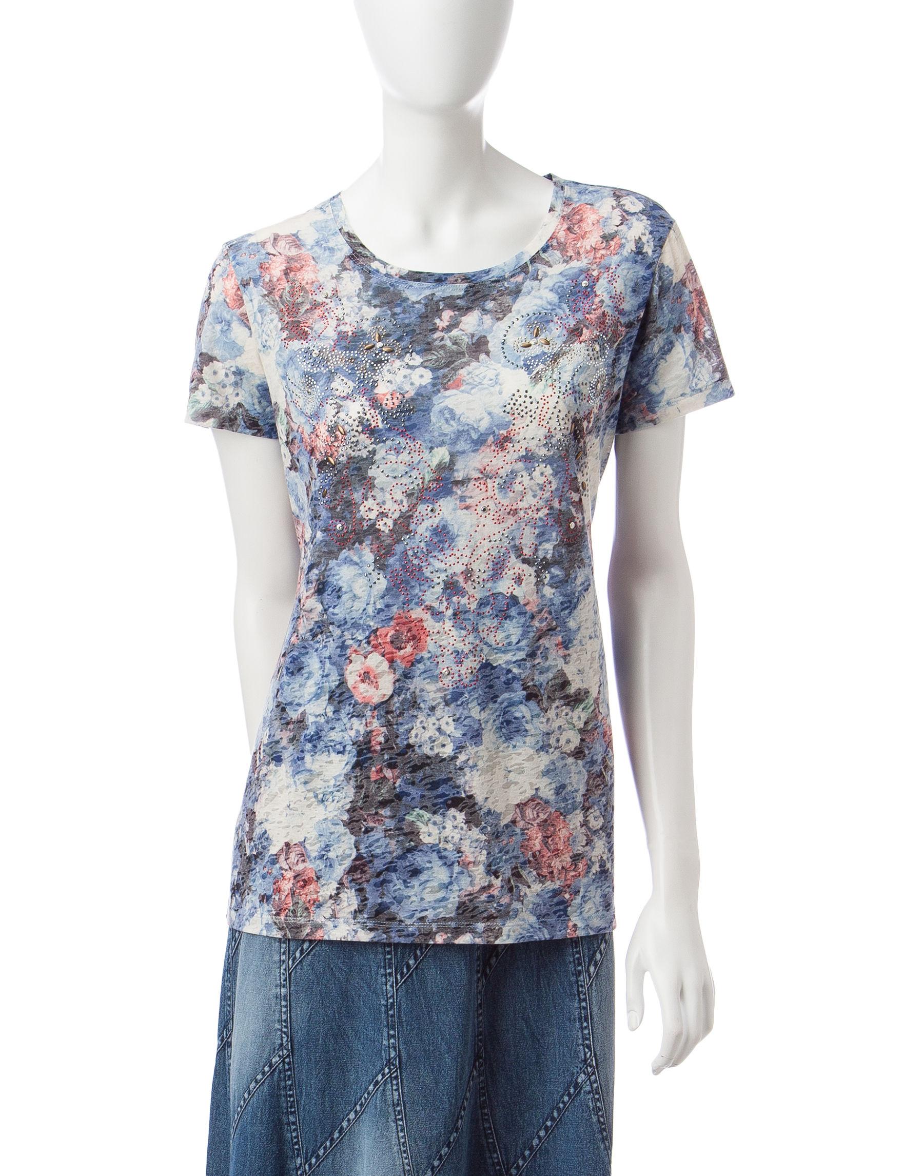 Hannah Blue Denim Shirts & Blouses