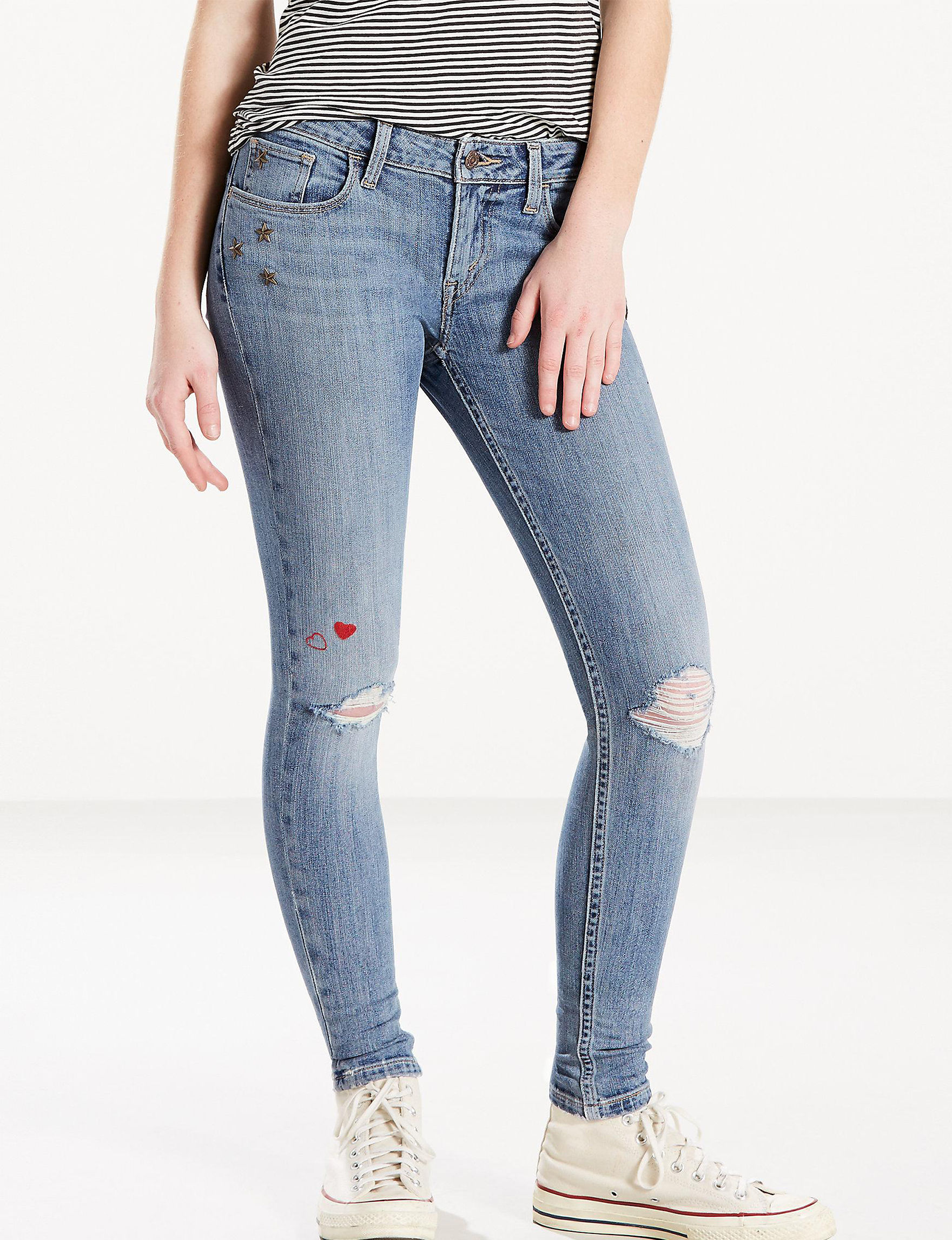 Levi's Medium Blue Leggings Skinny