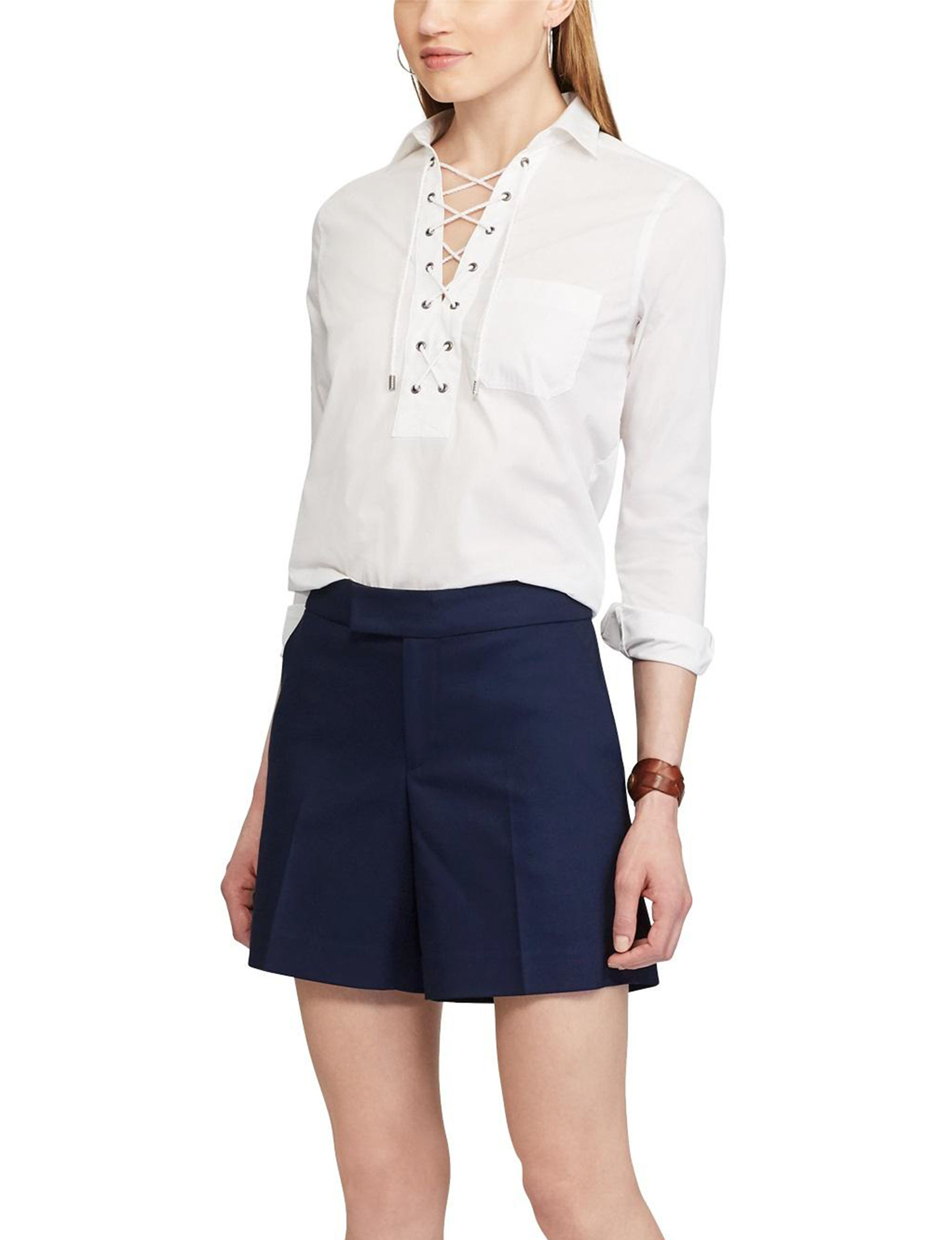 Chaps Navy Soft Shorts