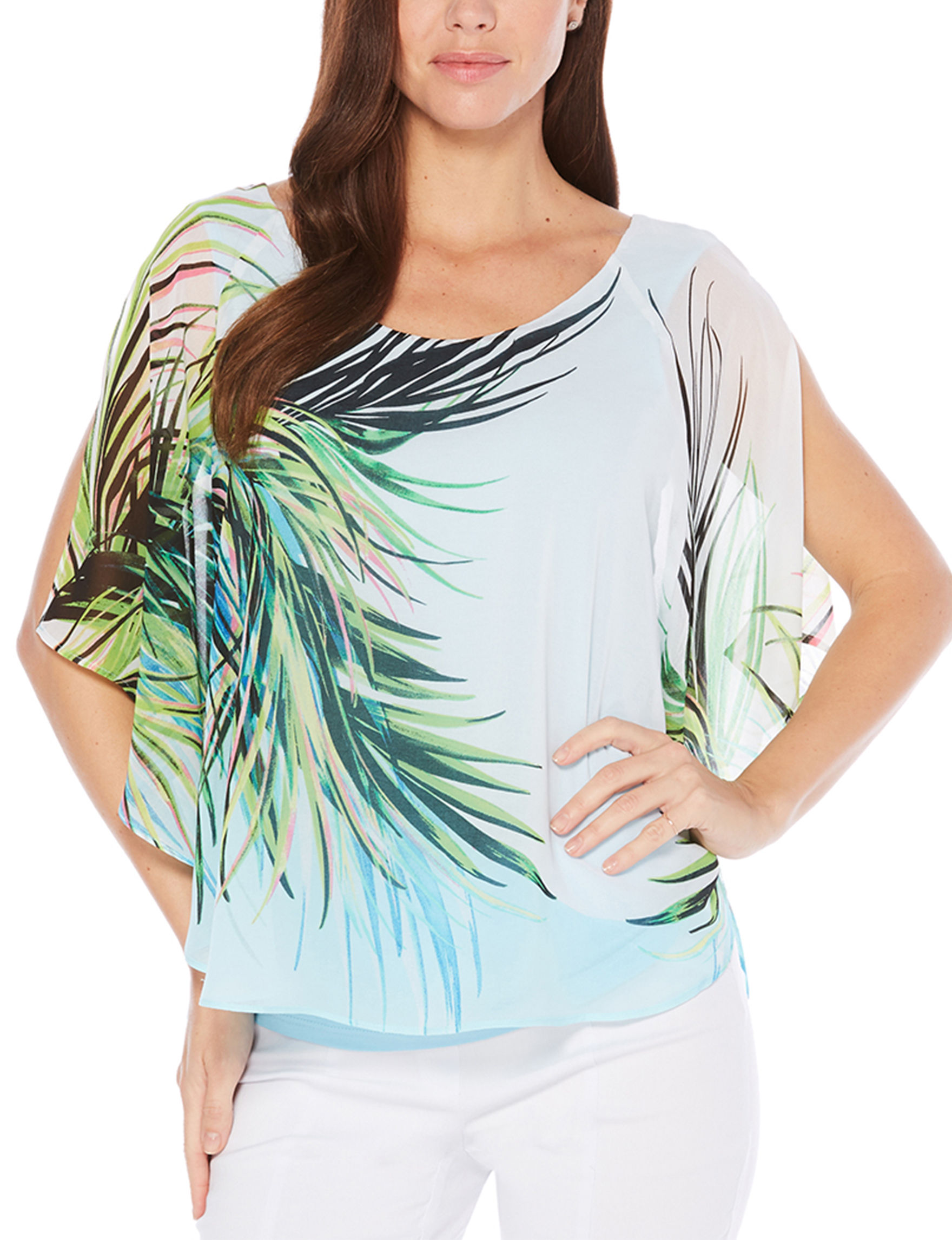 Rafaella Coral Shirts & Blouses