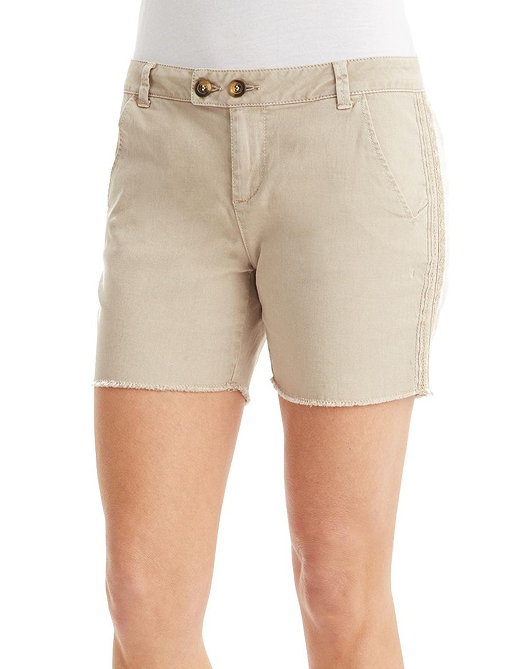 Democracy Pebble Tailored Shorts
