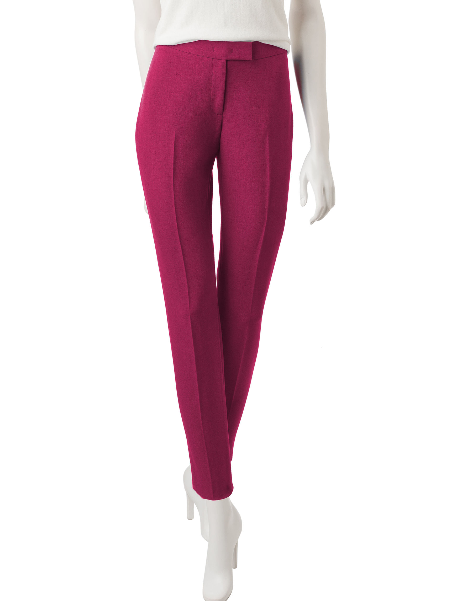 Anne Klein Purple Soft Pants
