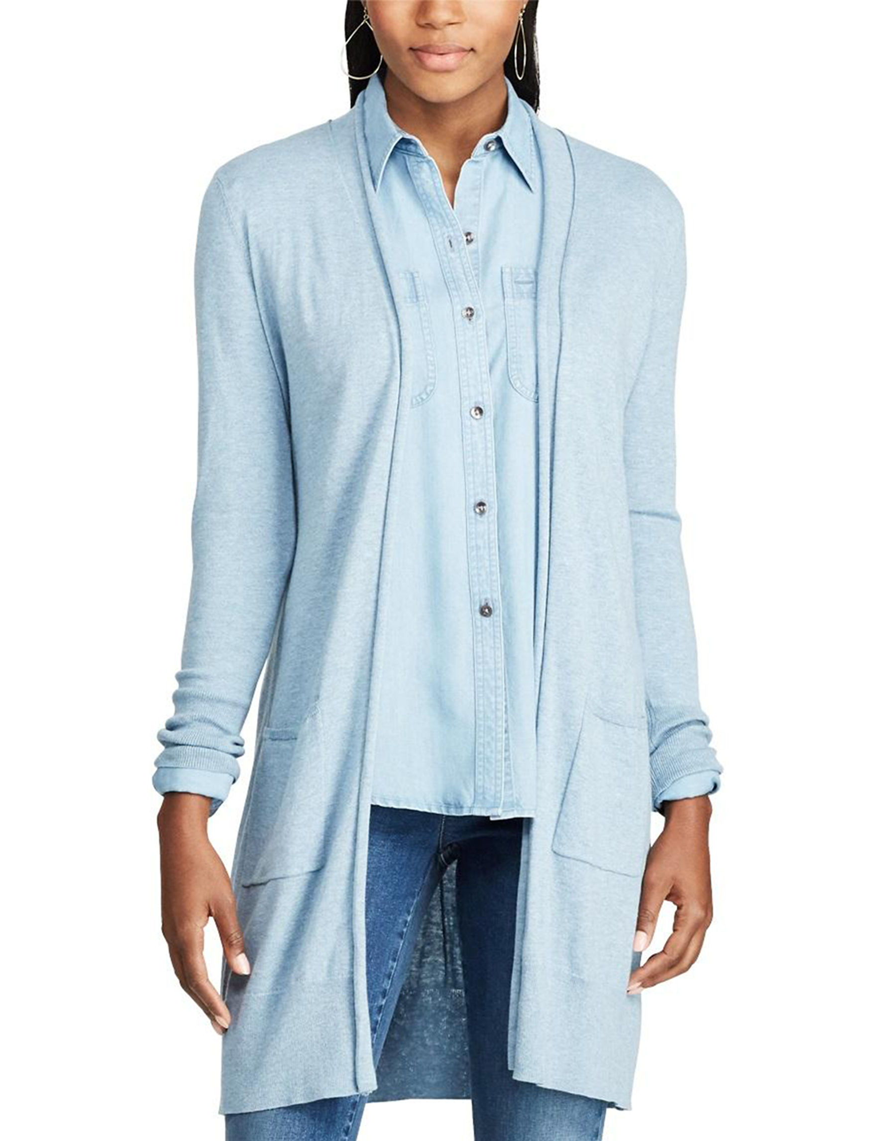 Chaps Cotton Duster Cardigan | Stage Stores