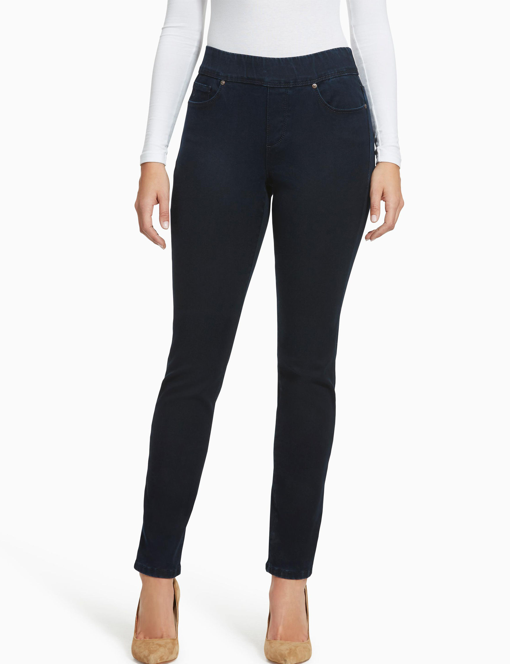 Gloria Vanderbilt Dark Wash Slim