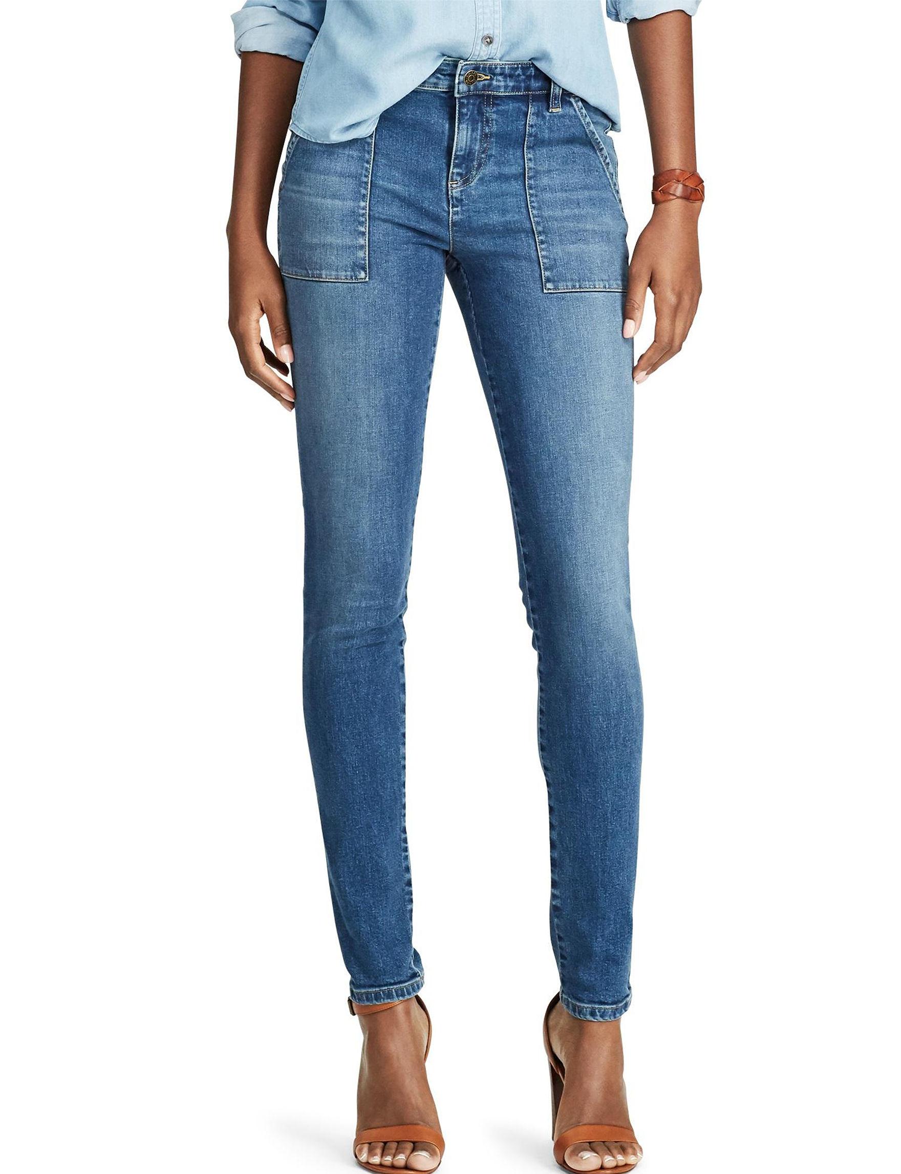 Chaps Blue Soft Pants