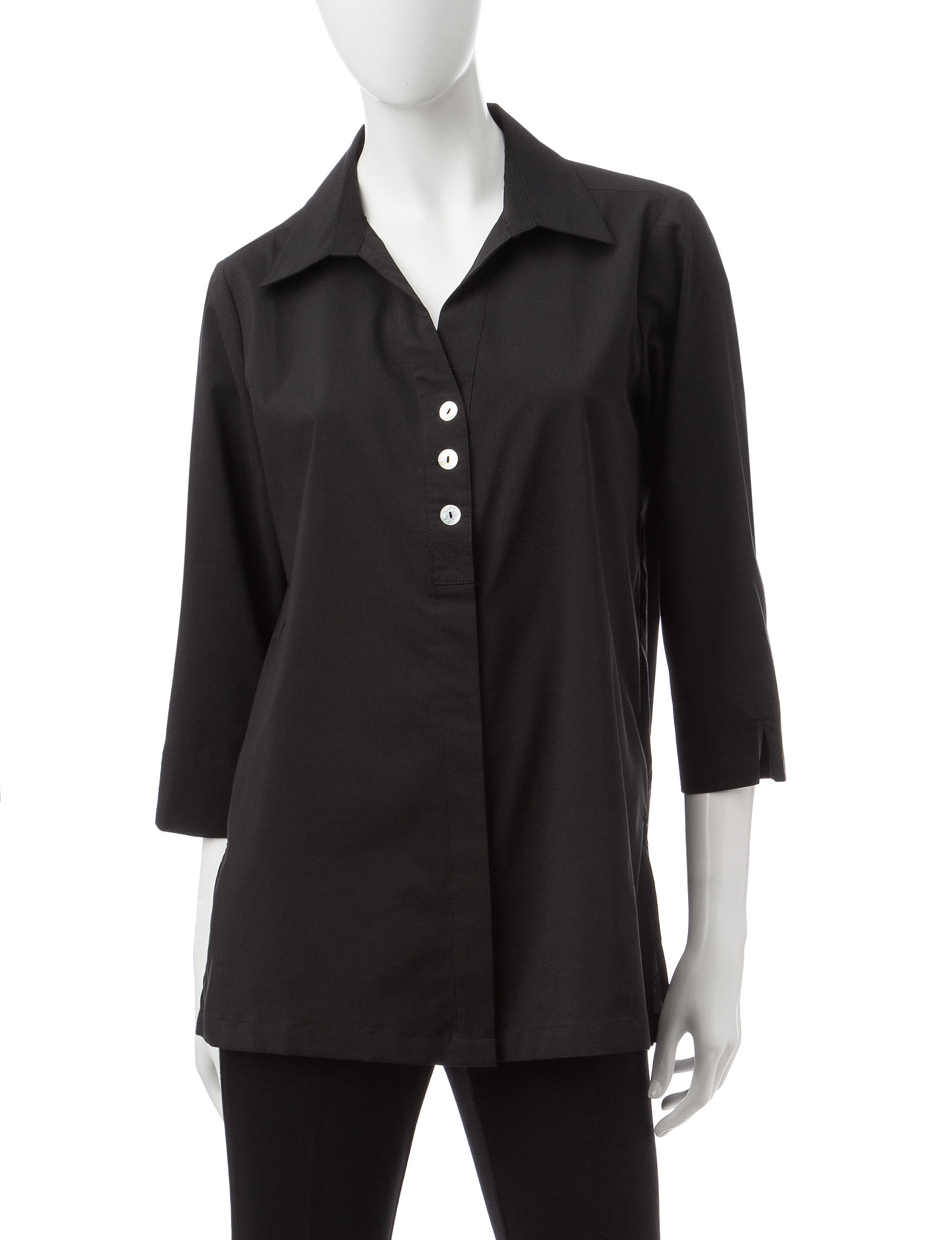 64590baa0b1 Rebecca Malone Black Shirts   Blouses