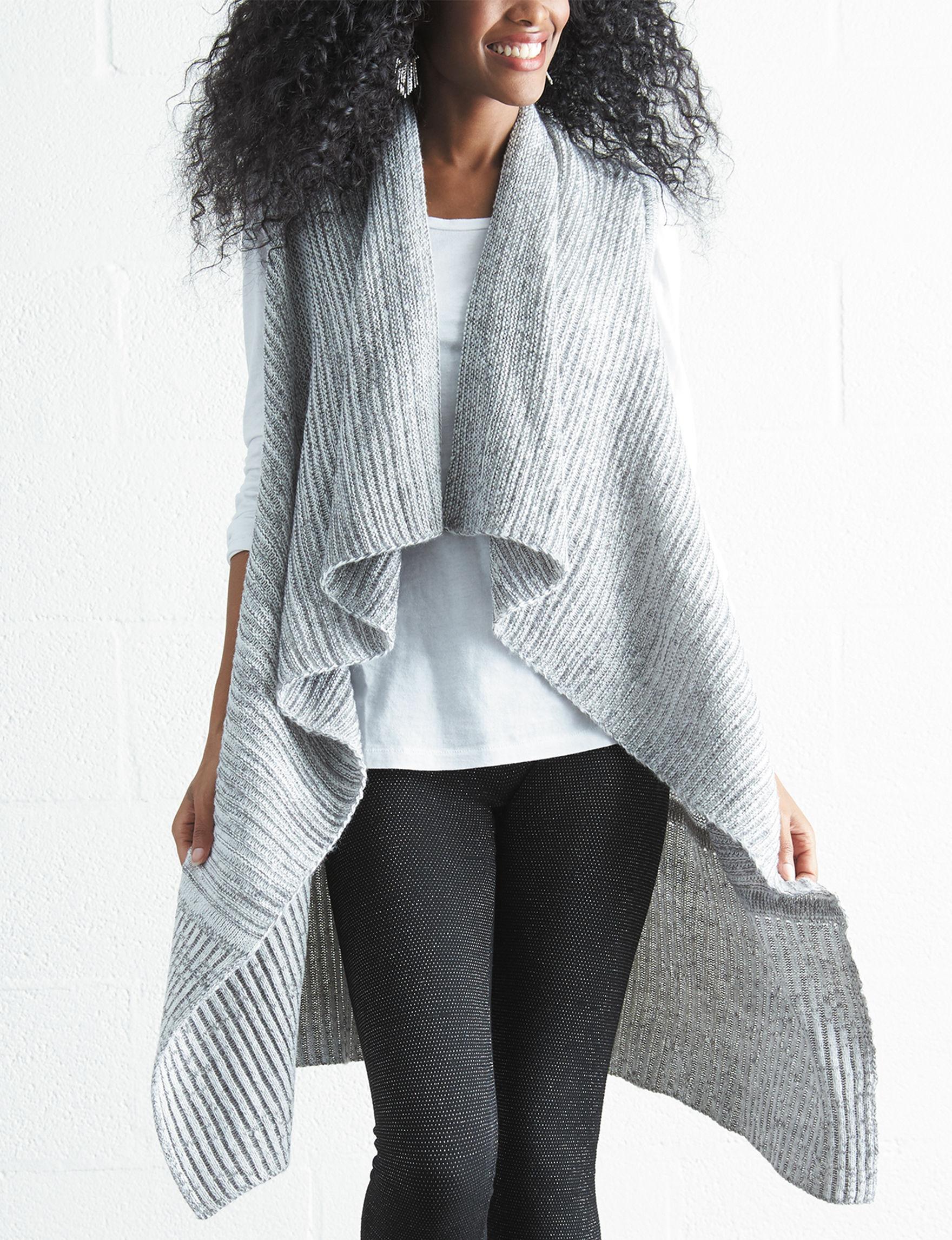 Hannah Grey Vests