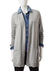 Hannah Grey Cardigans Sweaters