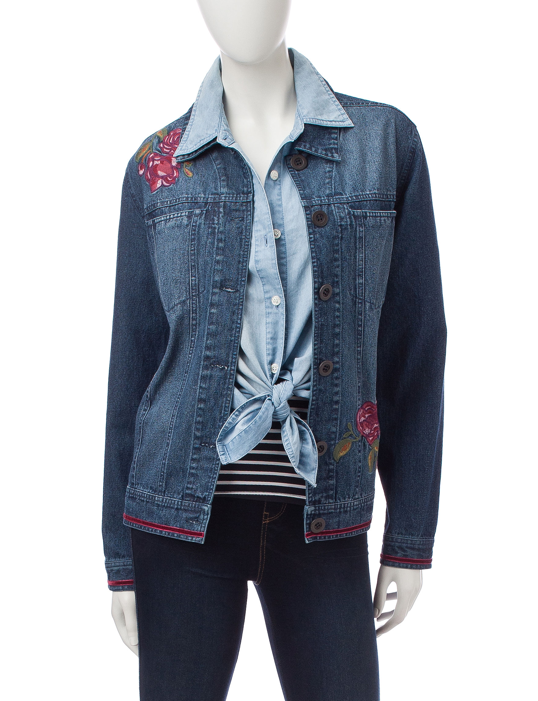 Hannah Denim Lightweight Jackets & Blazers