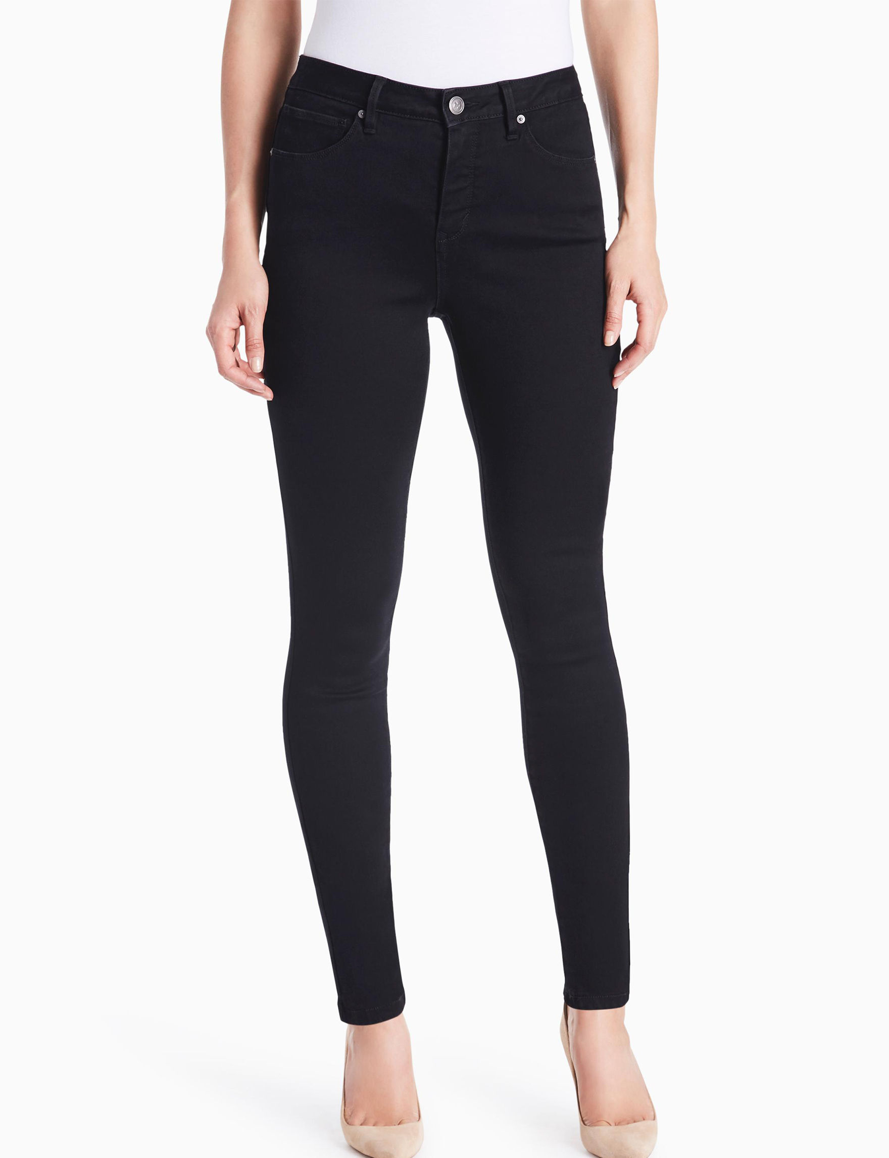 Miracle Jean Black Bootcut Leggings