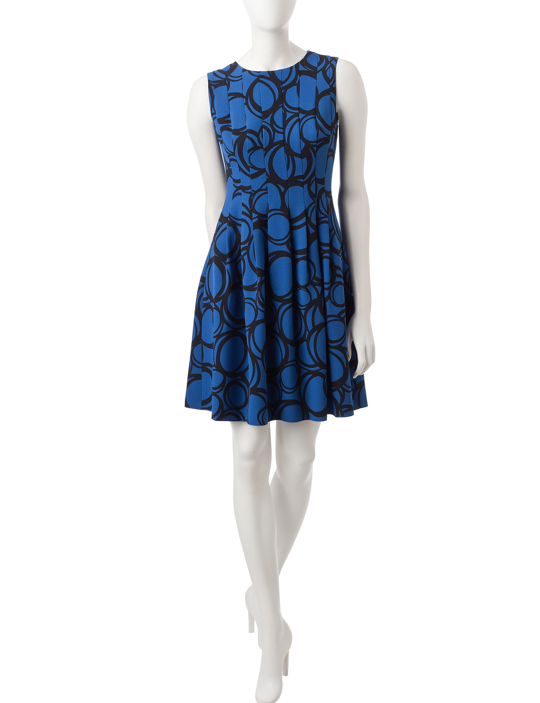Anne Klein Multi Everyday & Casual Fit & Flare Dresses