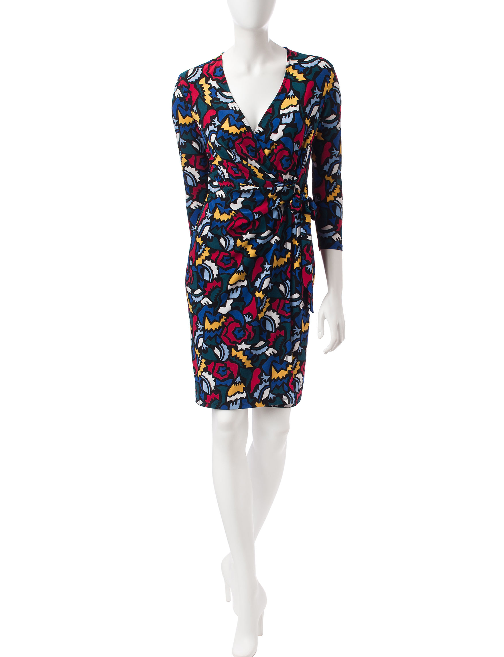 Anne Klein Multi Everyday & Casual Sheath Dresses