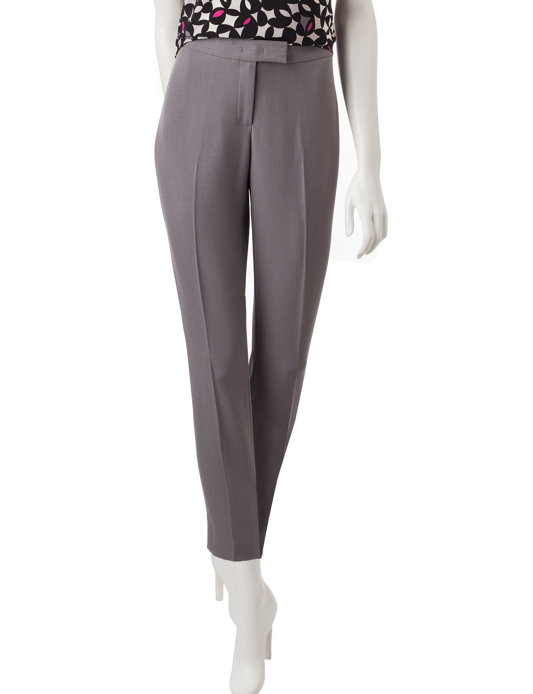 Anne Klein Grey Soft Pants