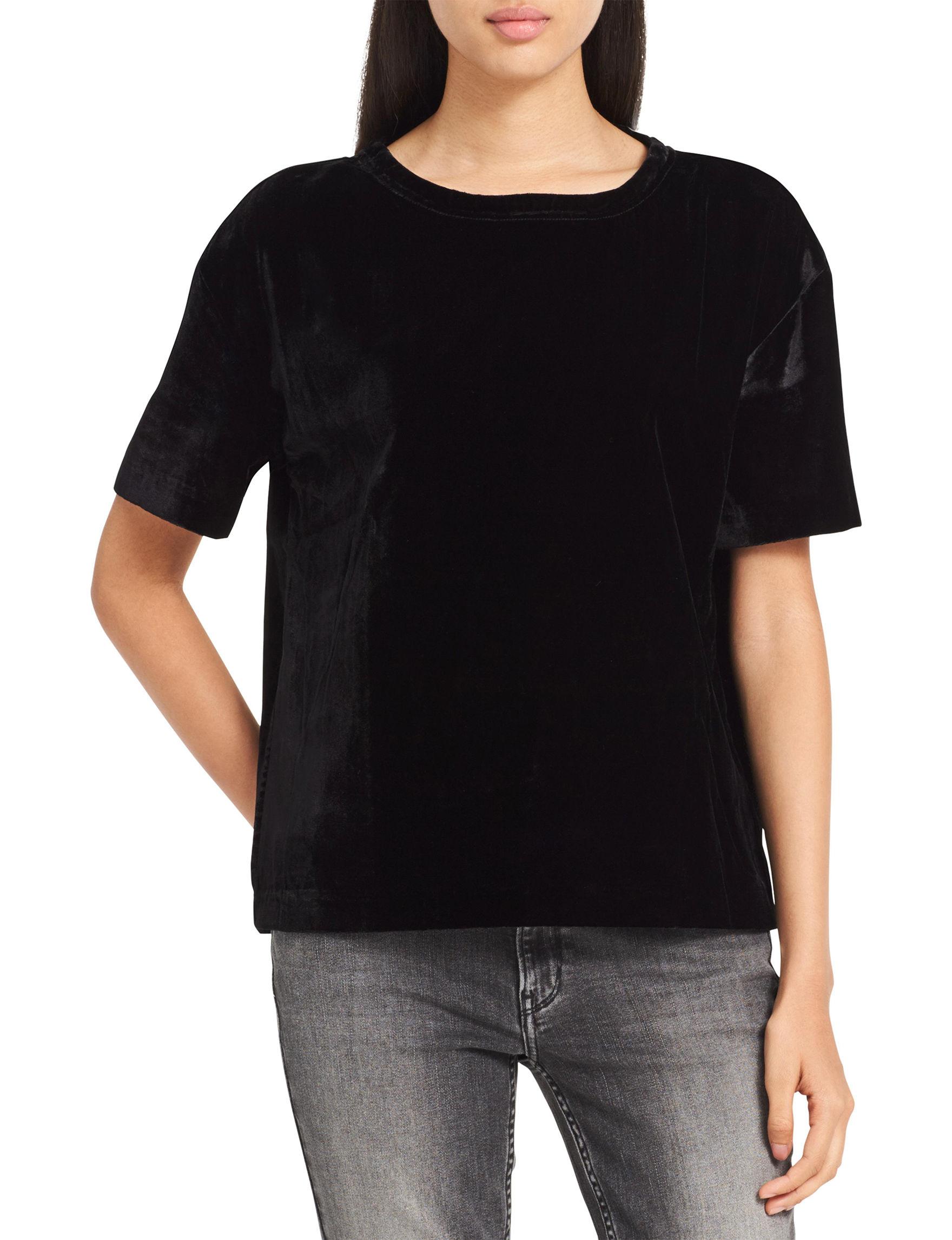 Calvin Klein Jeans Black Tees & Tanks