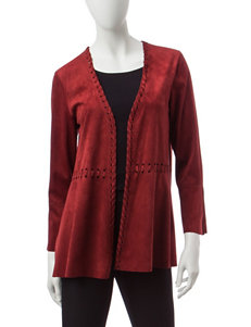 Ruby Road Rustic Red Lightweight Jackets & Blazers